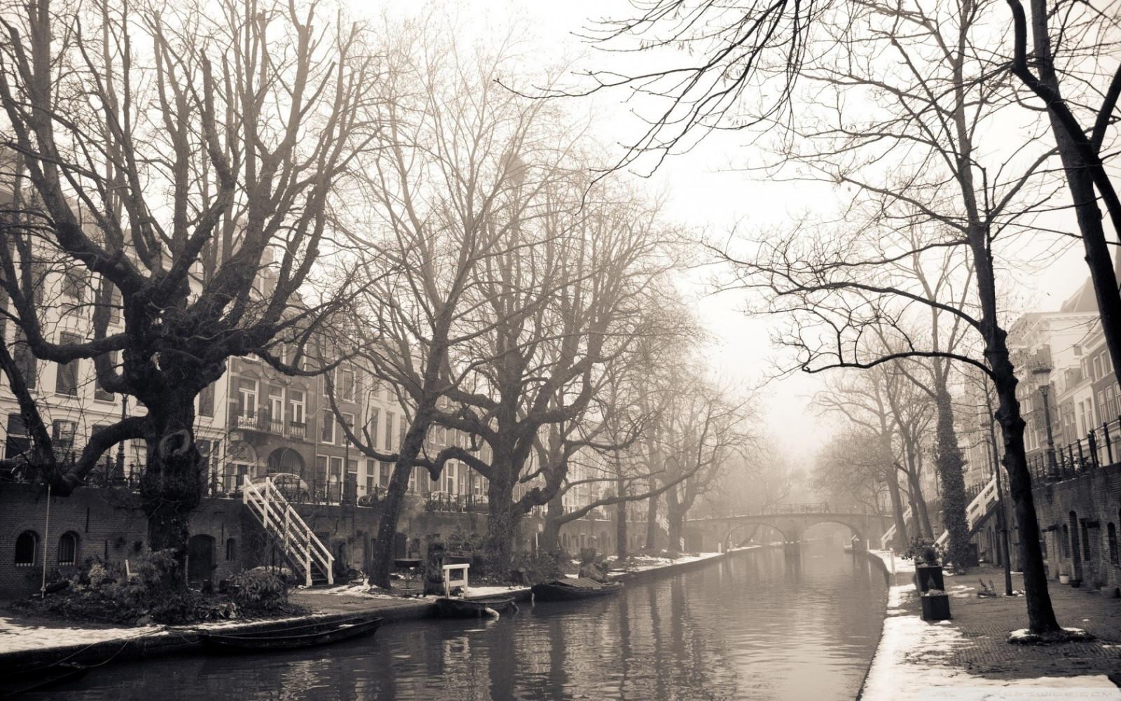 Amsterdam black and white photos