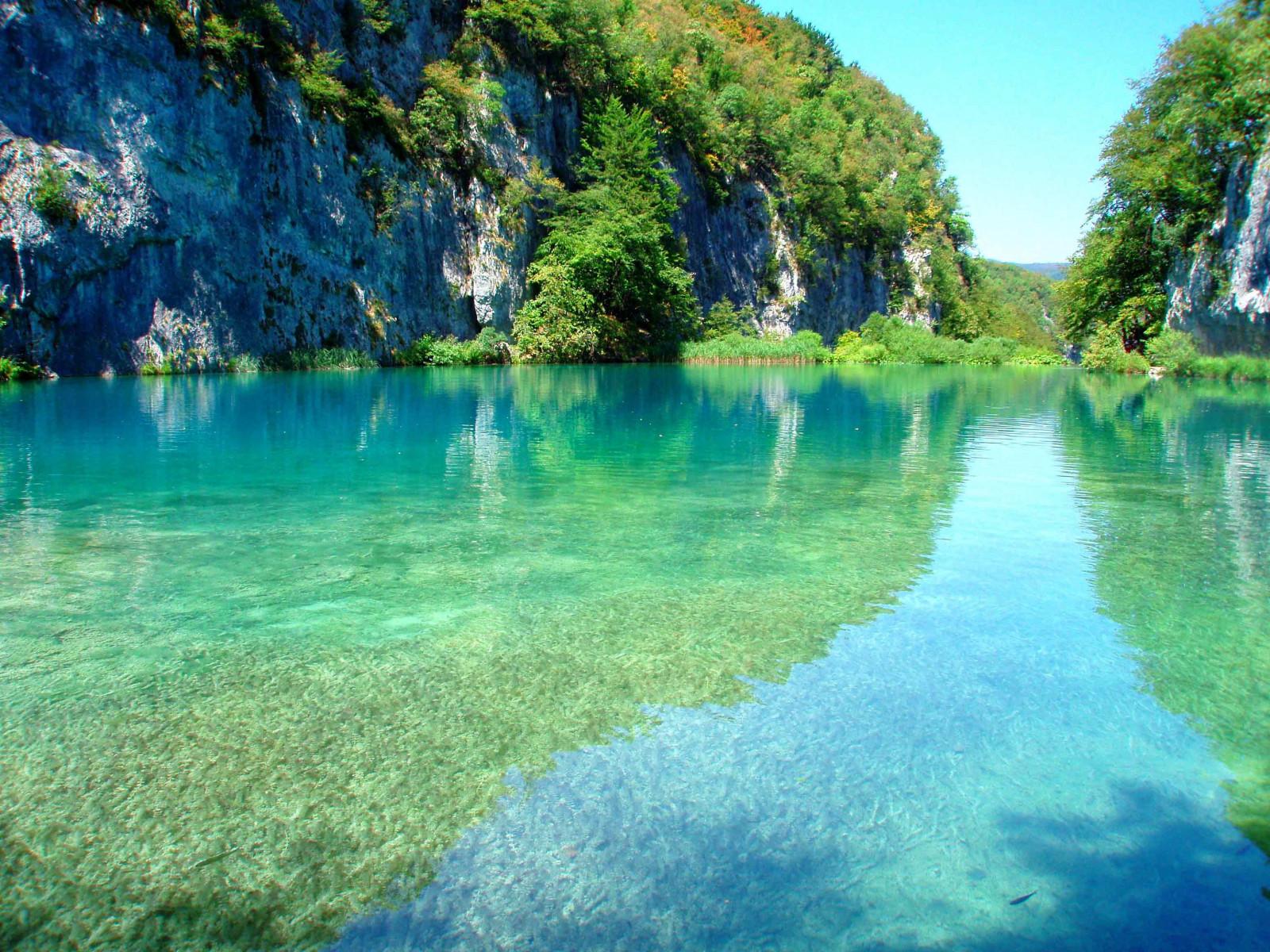 Wallpaper plitvice lakes croatia lake park mountain 3085x2314 wallup 1005606 hd - Plitvice lakes hd ...