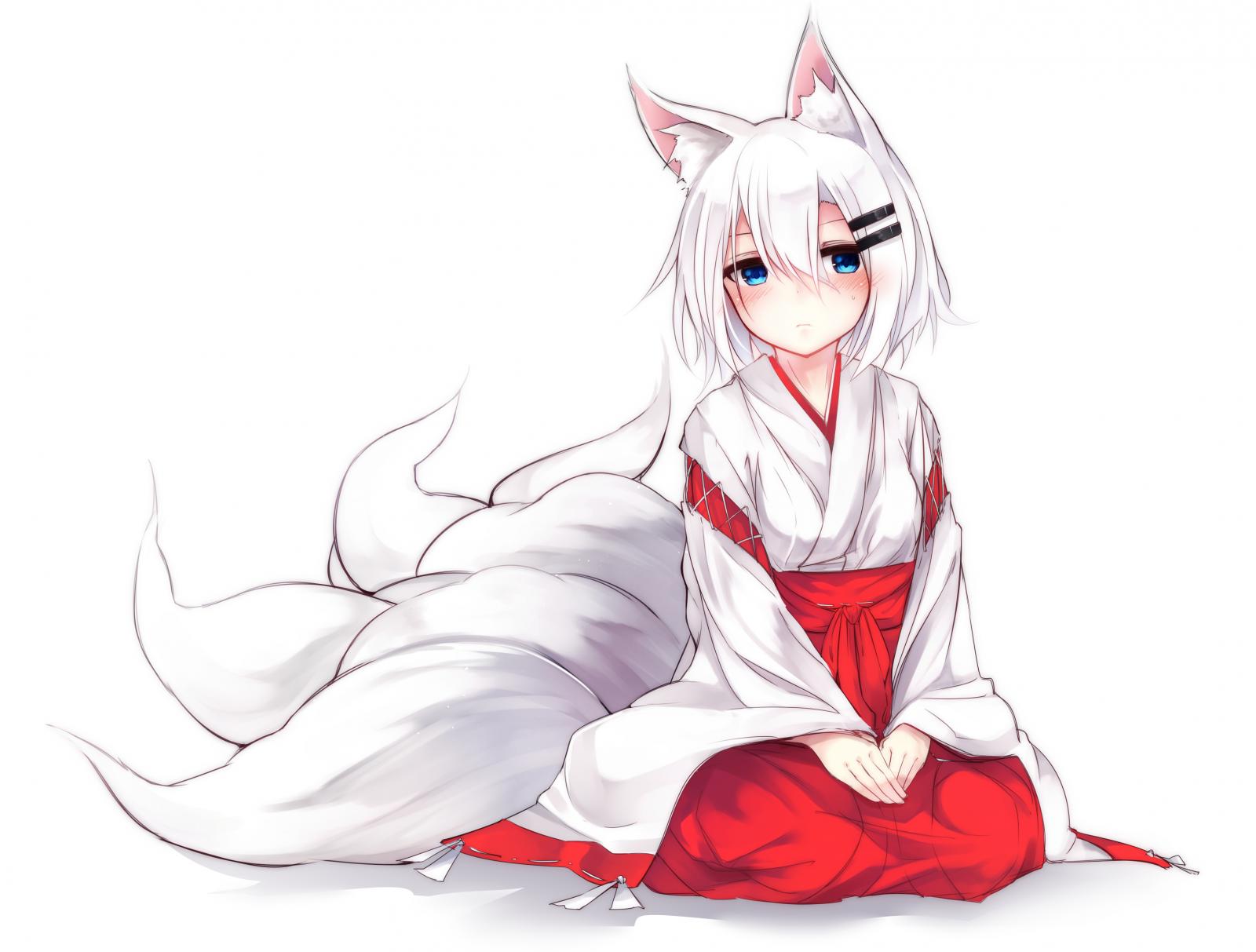Sketsa Anime Rambut