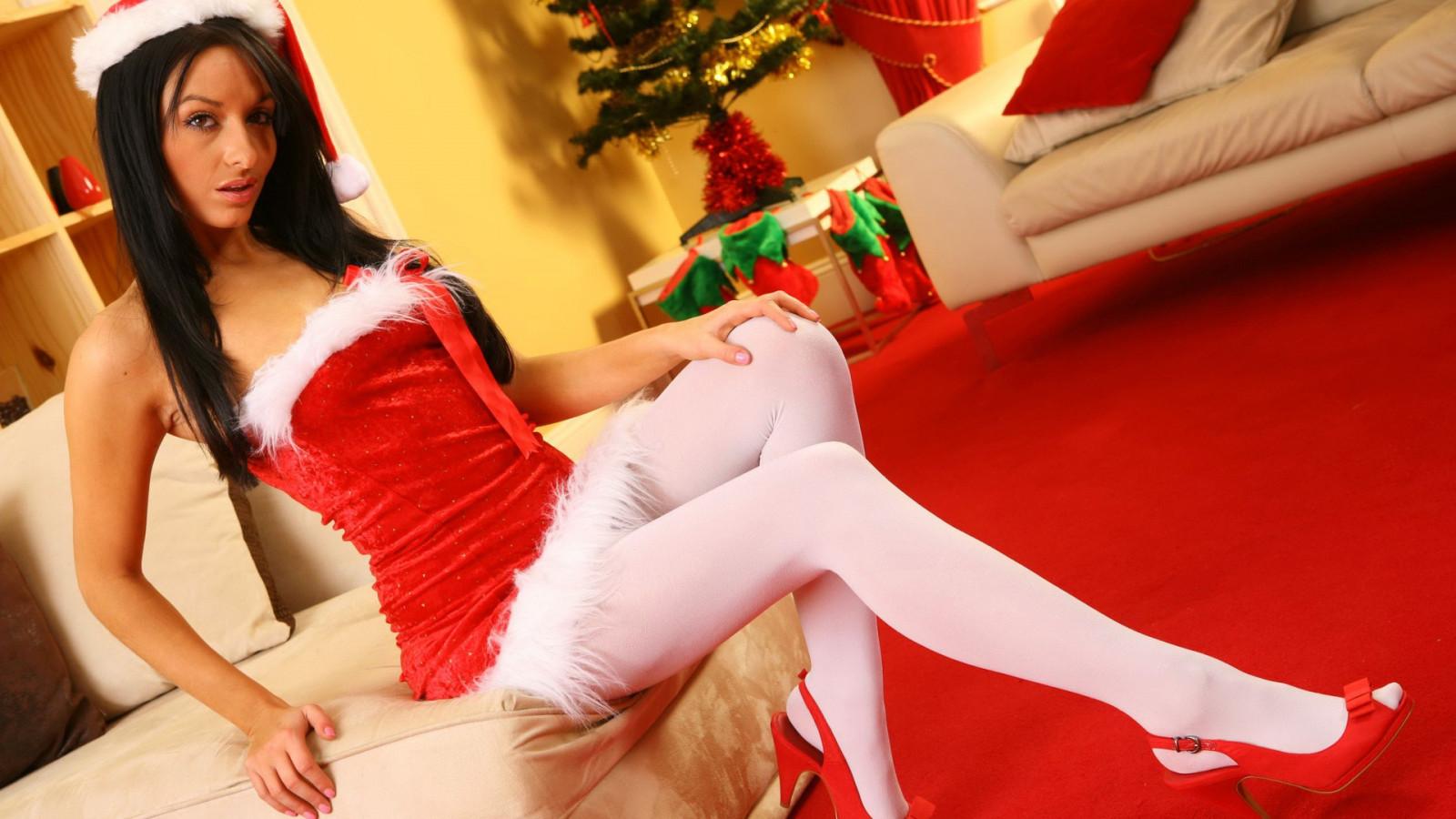 Als adult christmas stockings spank girls ass