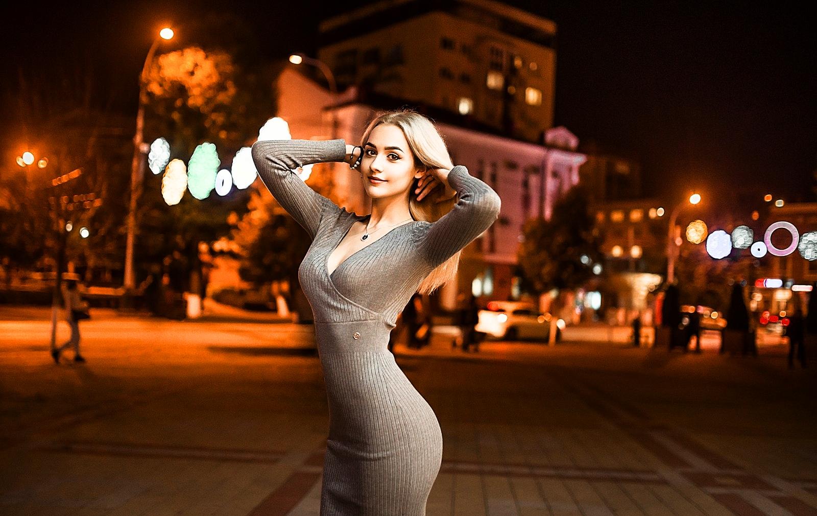 Wallpaper Blond Hair Longhair Model Blonde Fashion