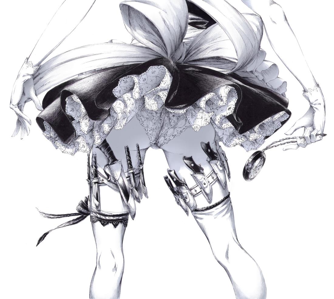Чулки рисунок аниме