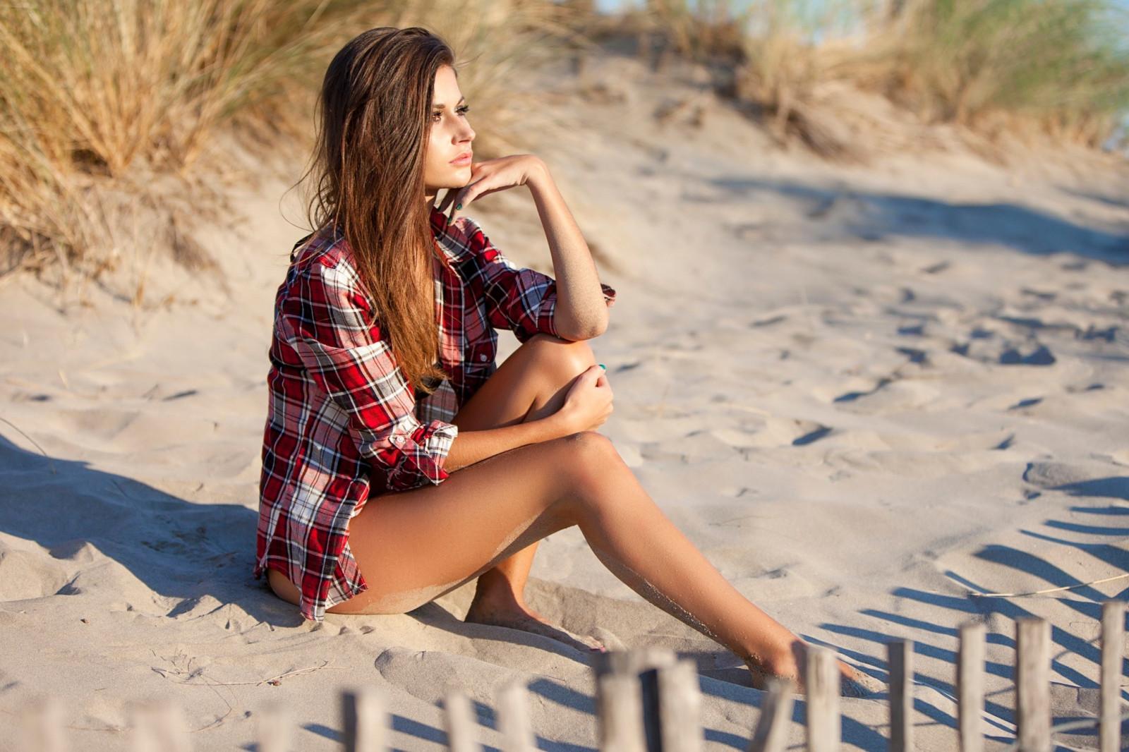 Как сделать красивое фото на море если ты полная 33