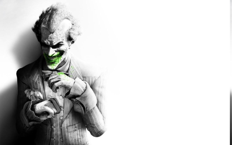 Drawing Illustration Video Games Monochrome Batman Arkham City Joker The Riddler Rocksteady Studios Sketch Black