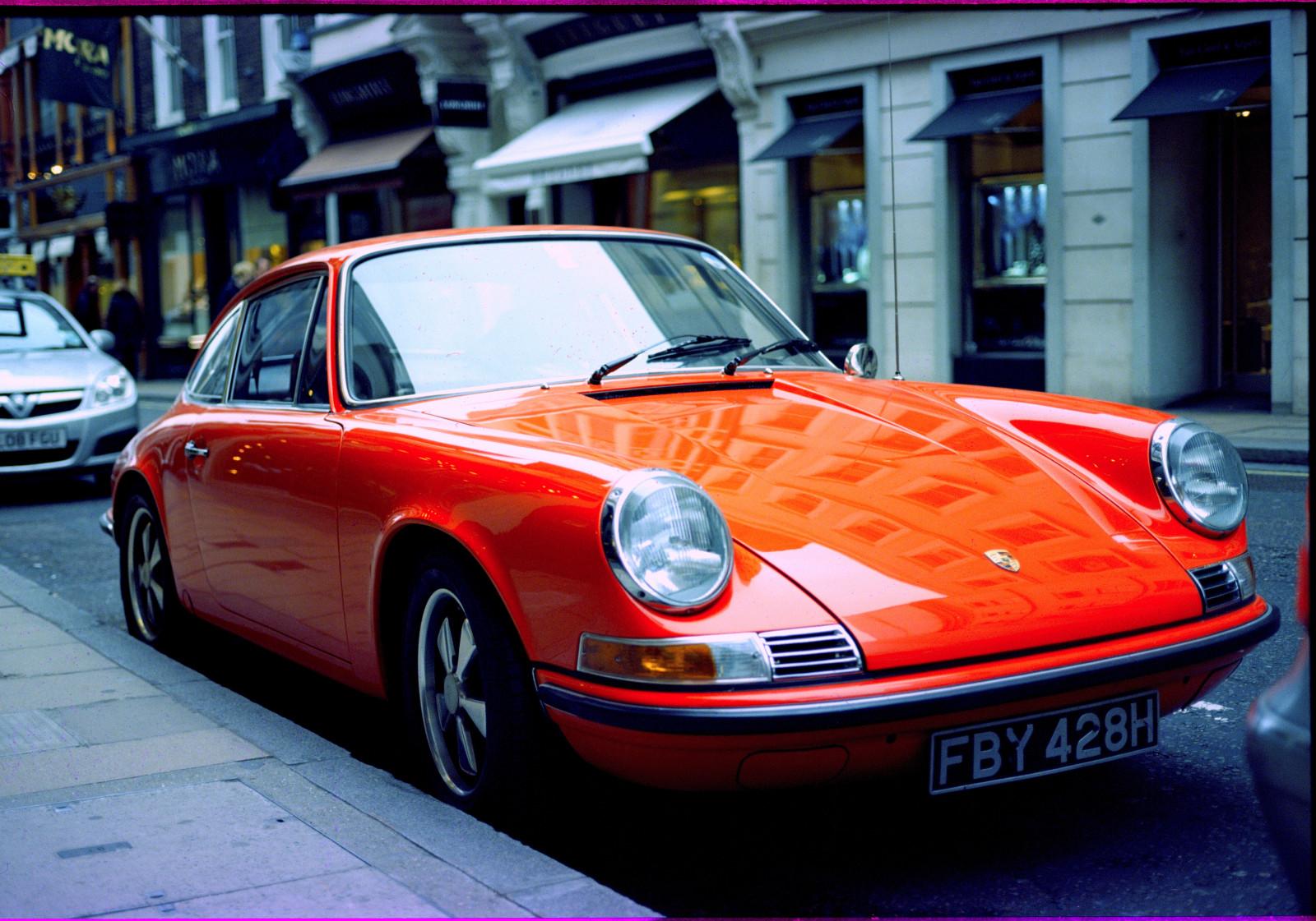 Entfernungsmesser Mit Rad : Hintergrundbilder : london auto fahrzeug orange porsche 911