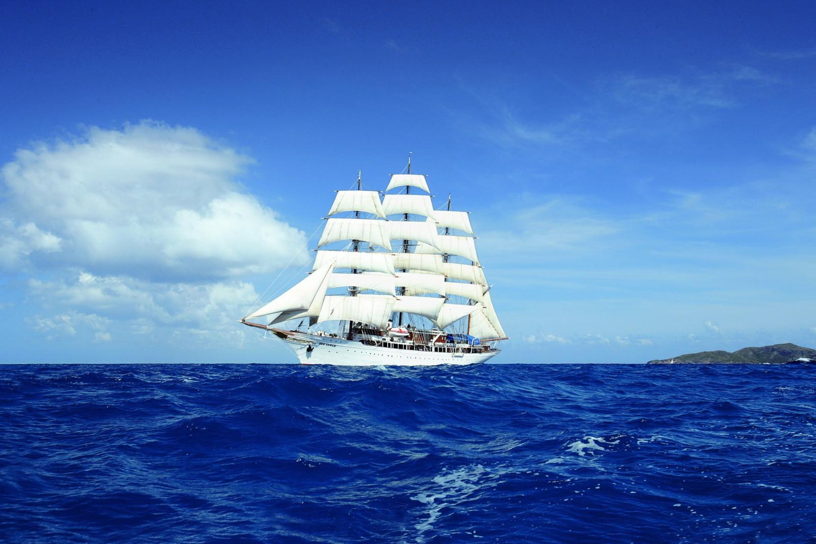 Открытки с кораблем и морем, открытки