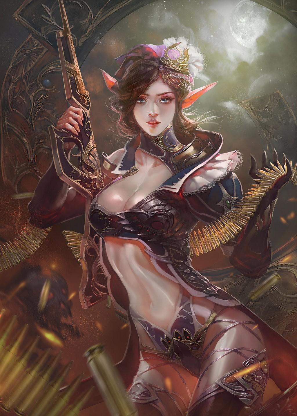Fantasy Art Girl