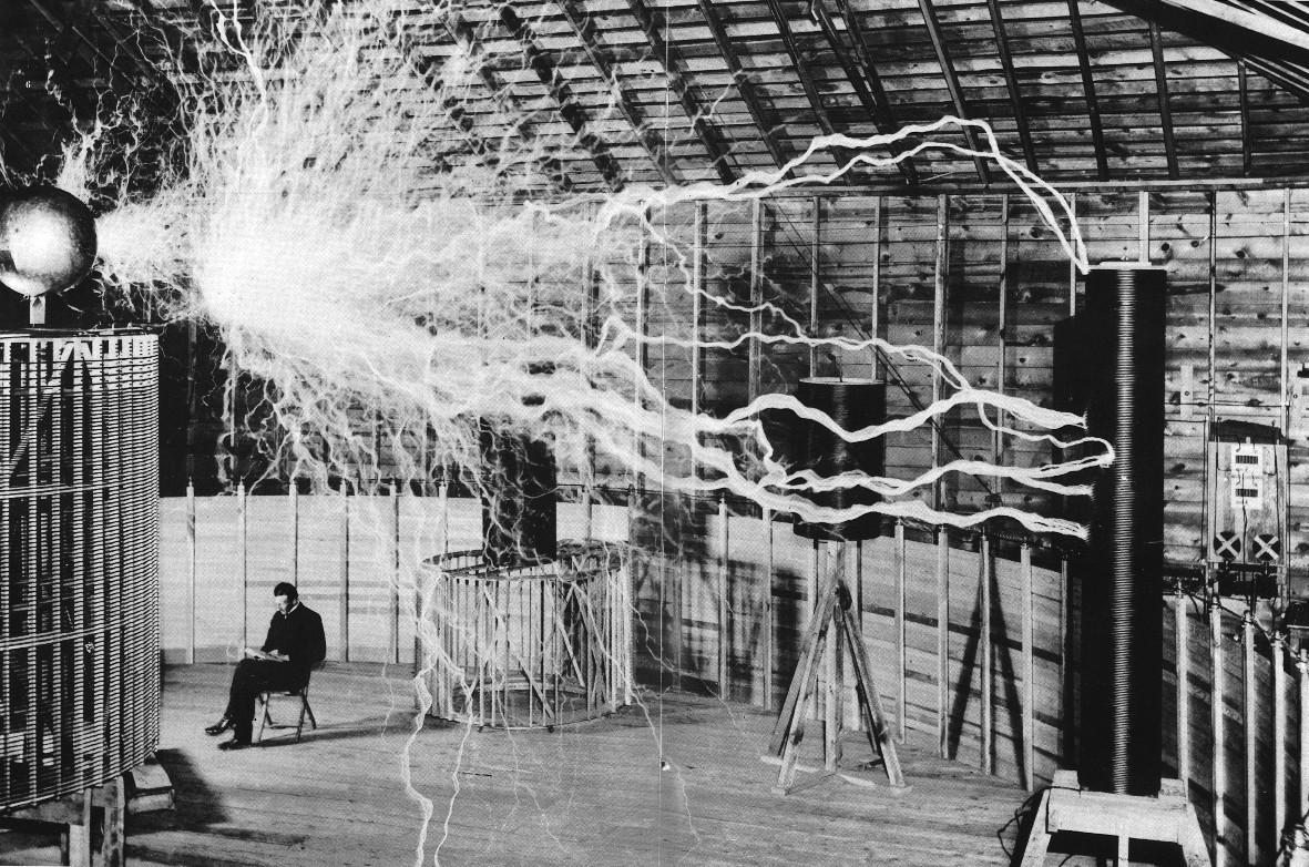 Wallpaper Street Nikola Tesla Science Tesla Coil Urban