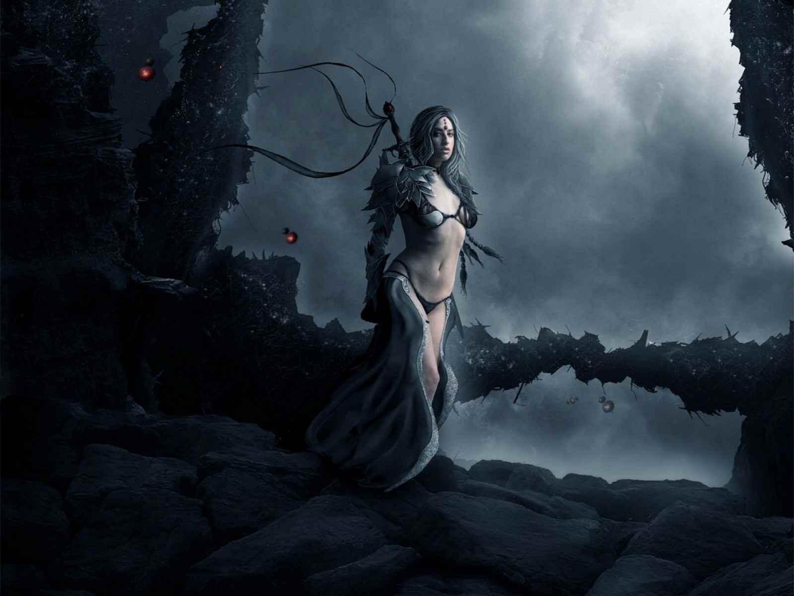 Wallpaper : Fantasy Art, Dark, Artwork, Warrior, Mythology