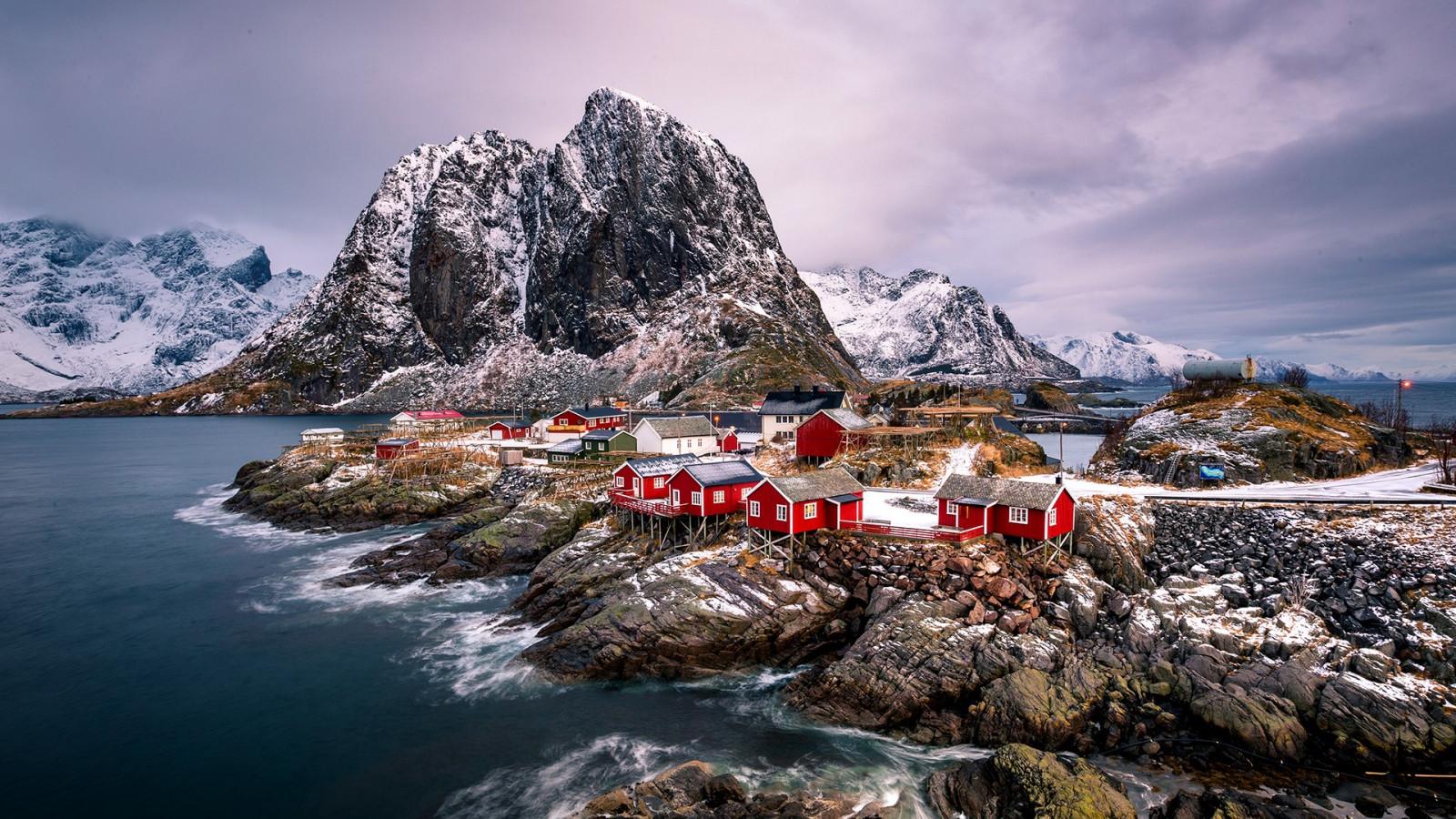 лофотенские острова норвегия что посмотреть сатору