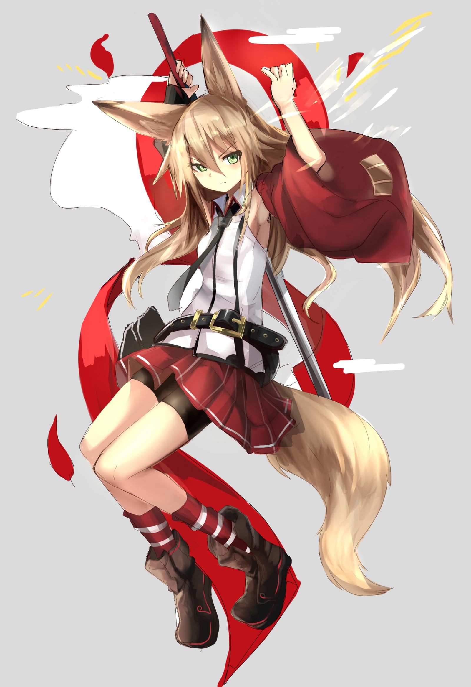 Anime Fuchs Girl