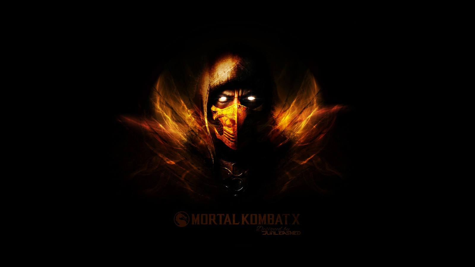 Wallpaper 2560x1440 Px Mortal Kombat Mortal Kombat X Scorpion