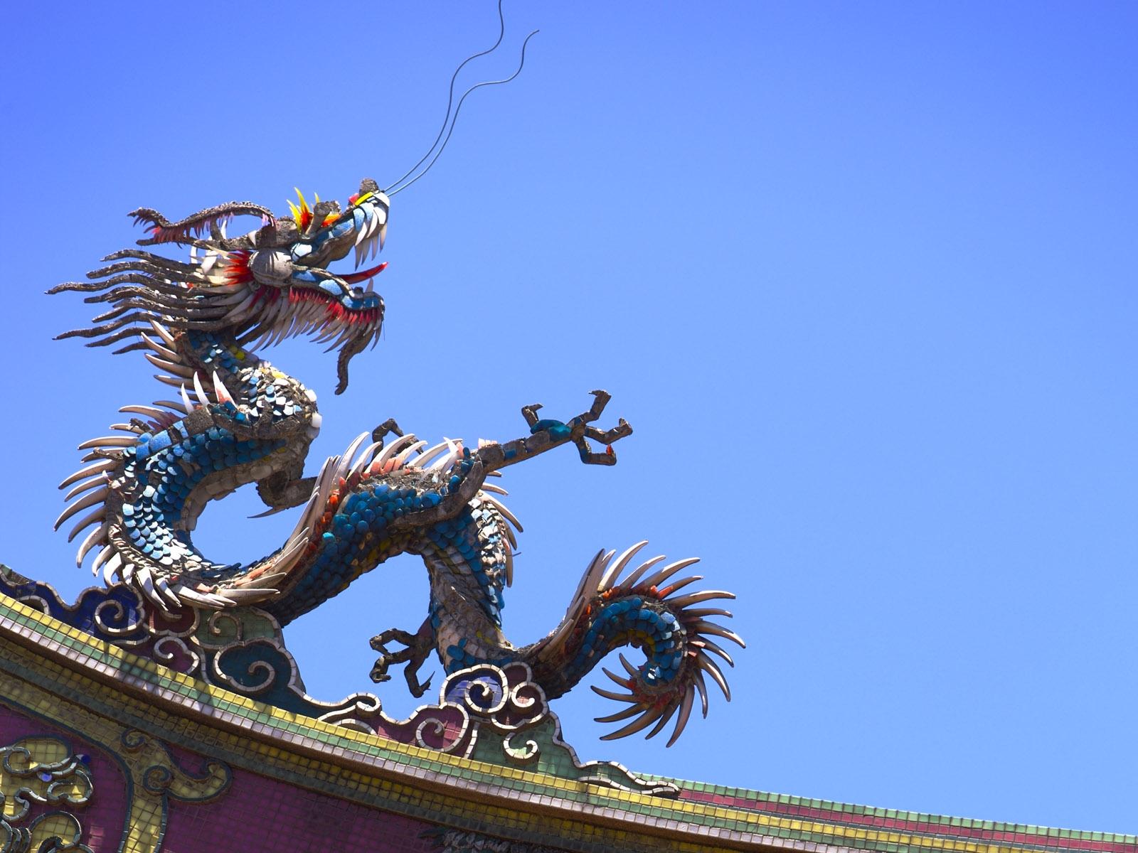 Картинки драконов китае