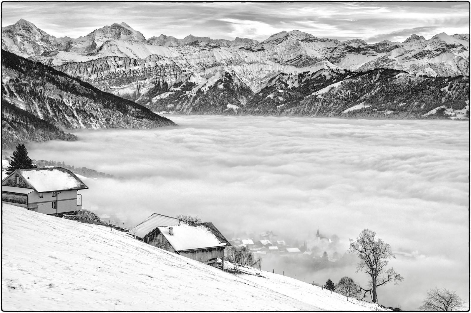 fond d 39 cran paysage dessin montagnes monochrome neige hiver la photographie alpes. Black Bedroom Furniture Sets. Home Design Ideas