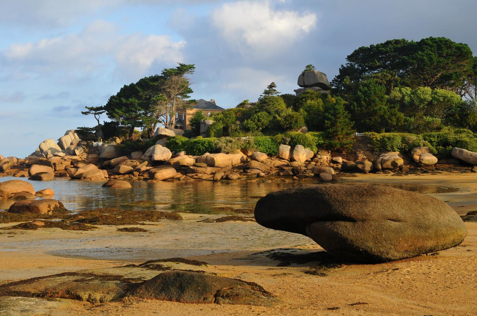 Fondos de pantalla : paisaje, mar, bahía, rock, apuntalar, arena ...