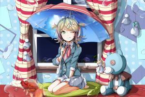 aaa72d2e5323 illustration anime room cartoon Vocaloid Kagamine Rin comics girl  screenshot mangaka