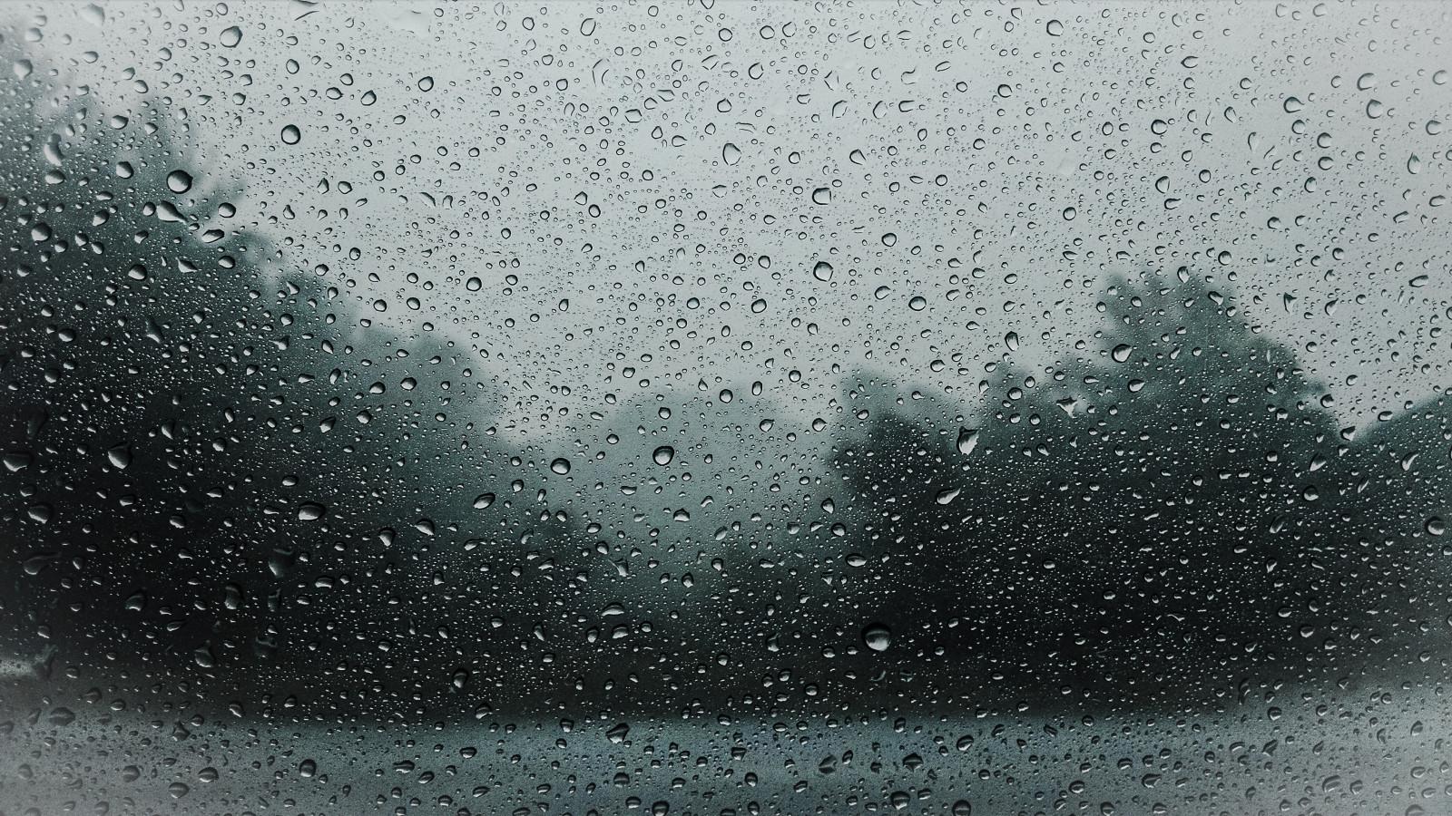 Дедушке, картинка дождя на стекле