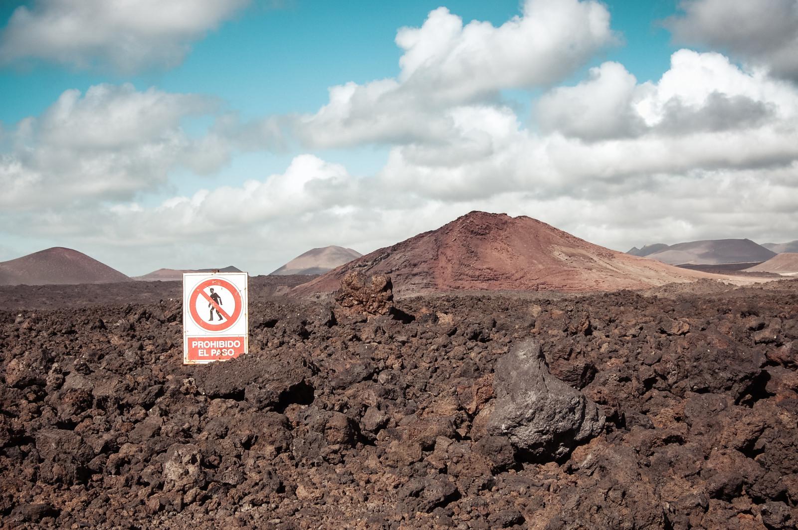 Kanarische Inseln Vulkan