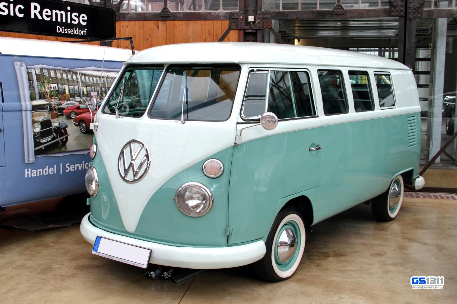 wallpaper old green volkswagen van oldtimer alt. Black Bedroom Furniture Sets. Home Design Ideas