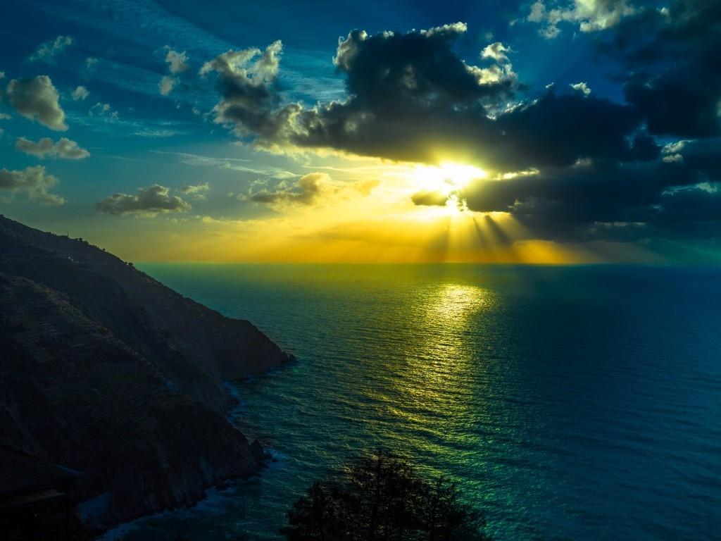 デスクトップ壁紙 日光 風景 日没 反射 空 日の出 イブニング