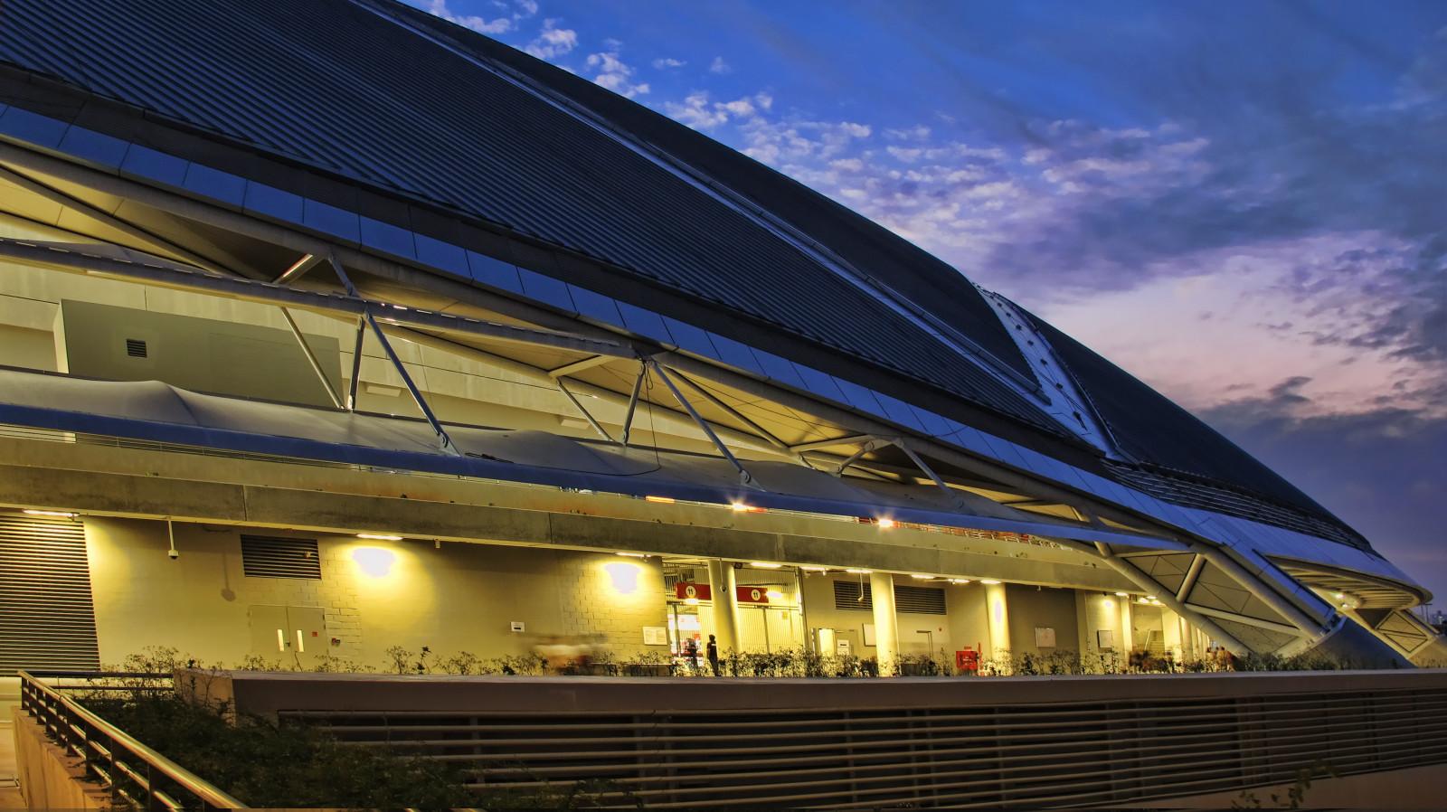 Hintergrundbilder : Sport, Nacht , Die Architektur, Singapur, Gebäude,  Betrachtung, Himmel, Haus, Tourismus, Abend, Modern, Kuppel, Struktur,  Attraktion, ...