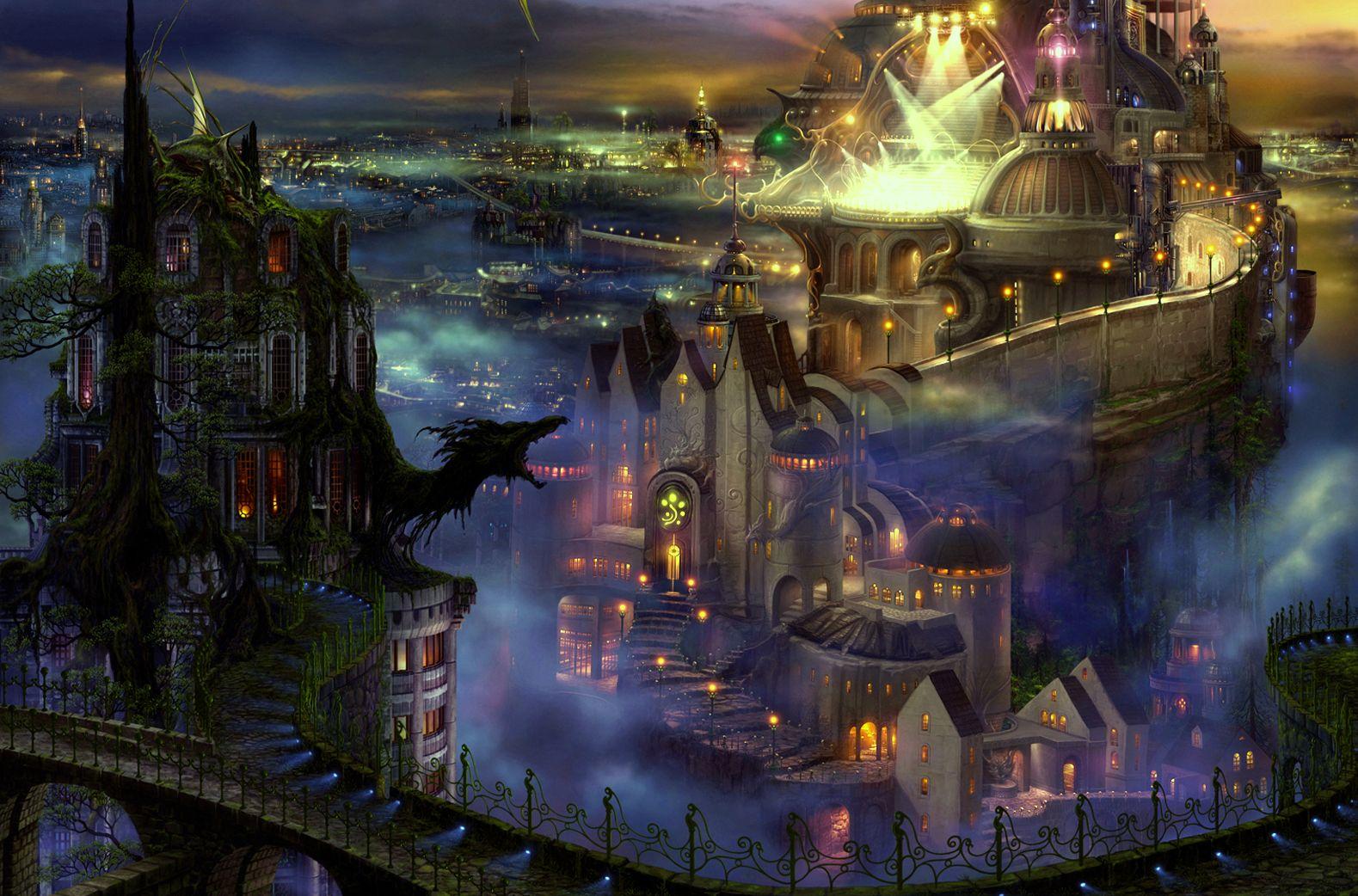 магические замки картинки самых романтичных