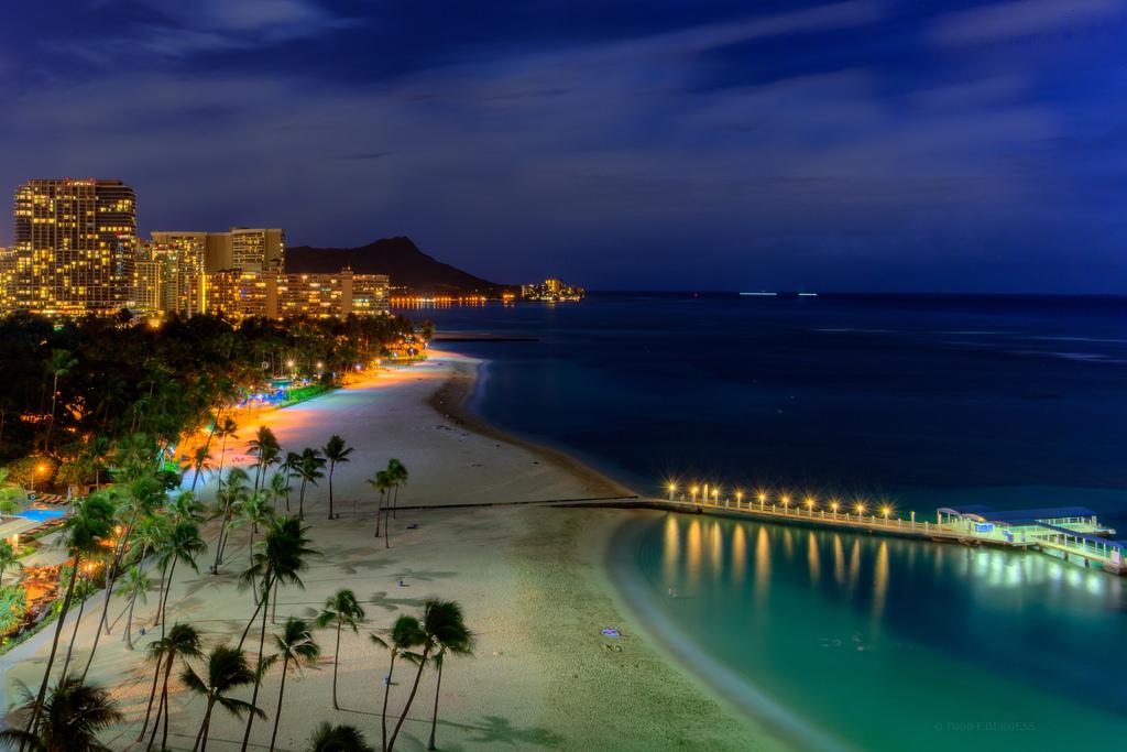 Hintergrundbilder : Landschaft, Meer, Stadt, Stadtbild, Bucht, Nacht ...