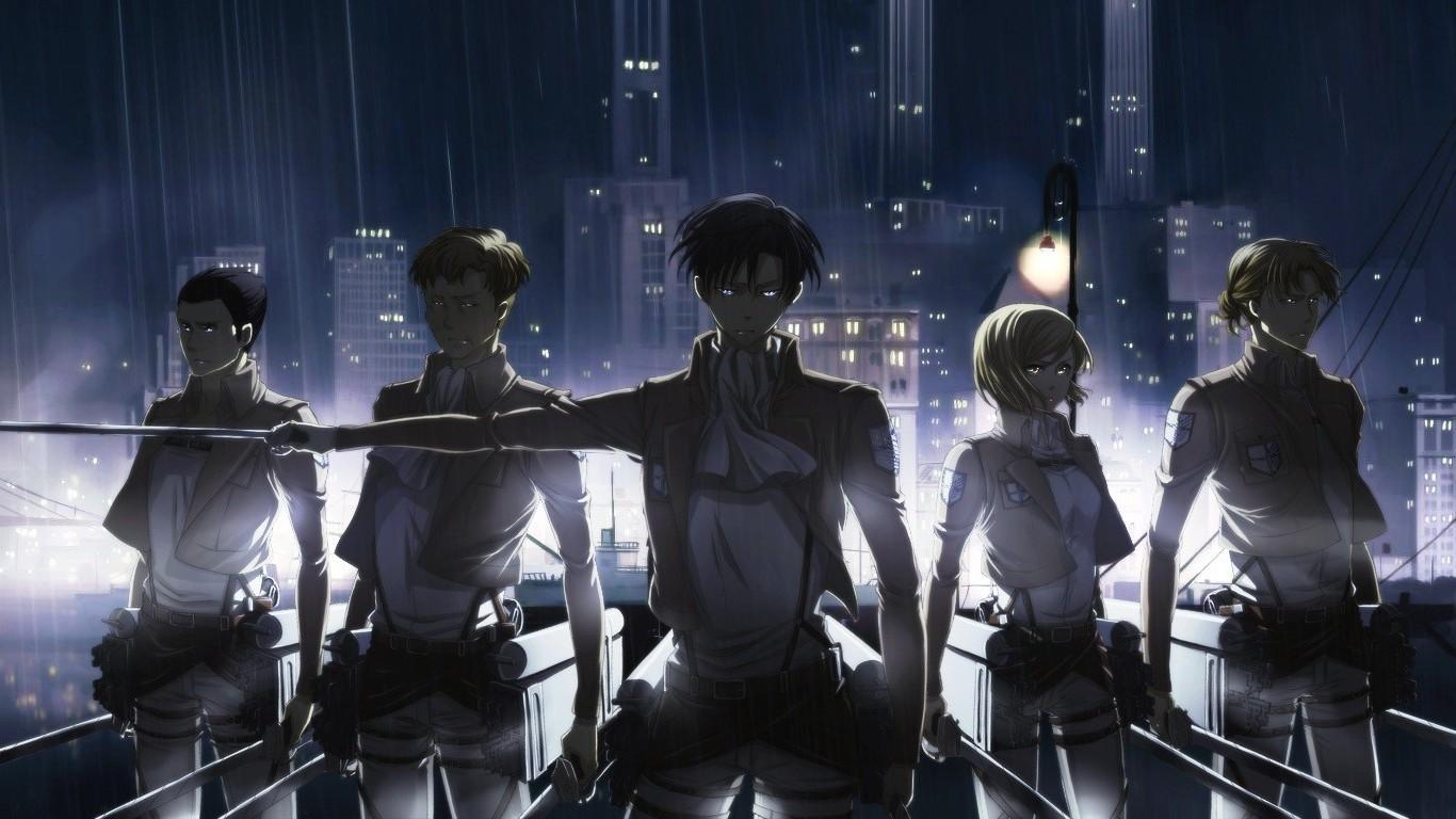 Wallpaper Anime Shingeki No Kyojin Levi Ackerman Stage