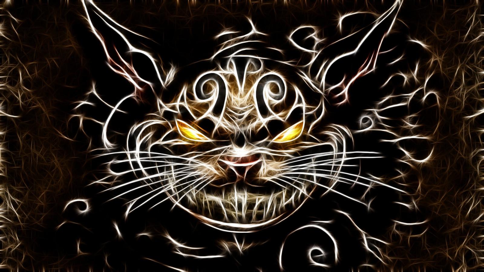 Открытки дню, картинки злые кошки на рабочий стол