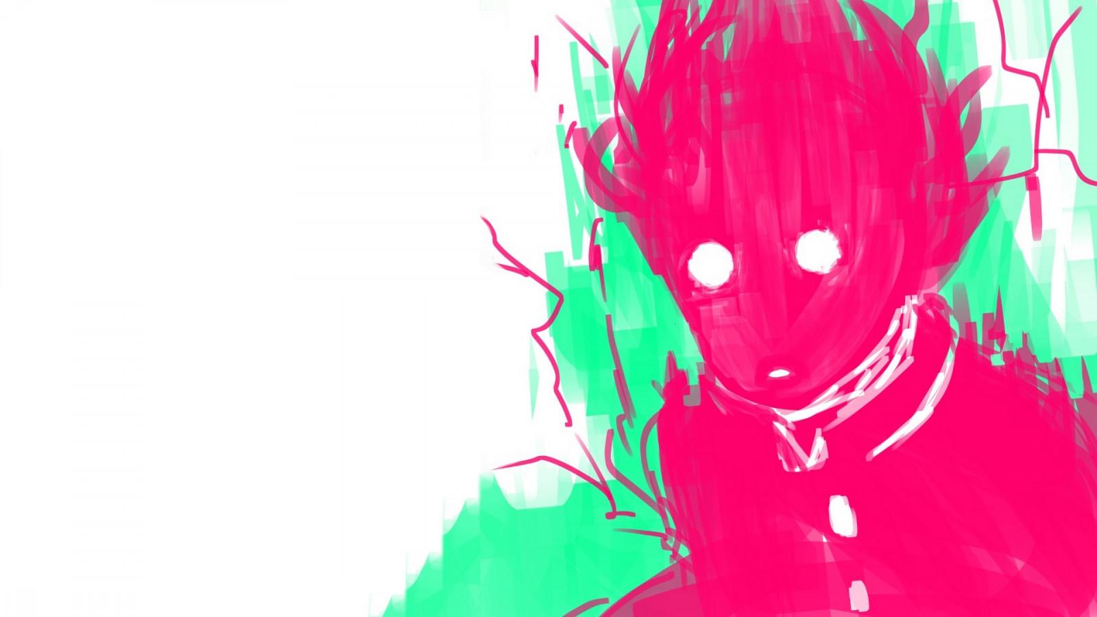 Wallpaper Mob Psycho 100 Anime Kageyama Shigeo 1920x1080