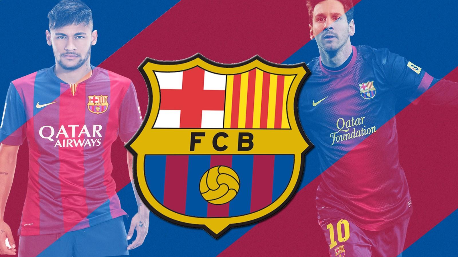 Wallpaper Olahraga Logo Tim Neymar Lionel Messi FC