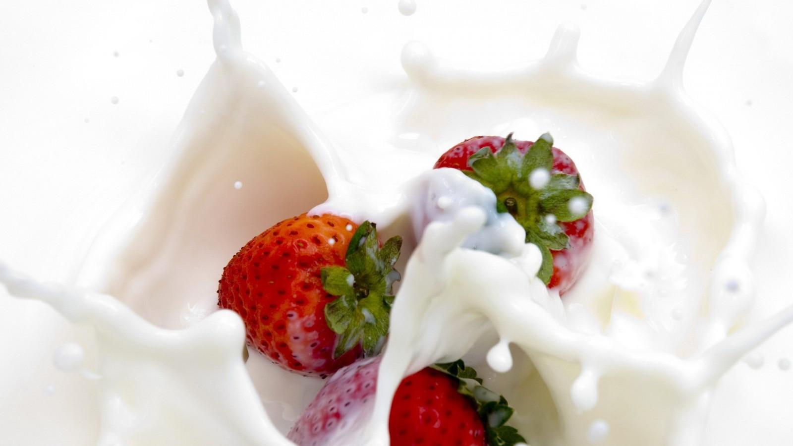 Рецепт жидкости клубника со сливками