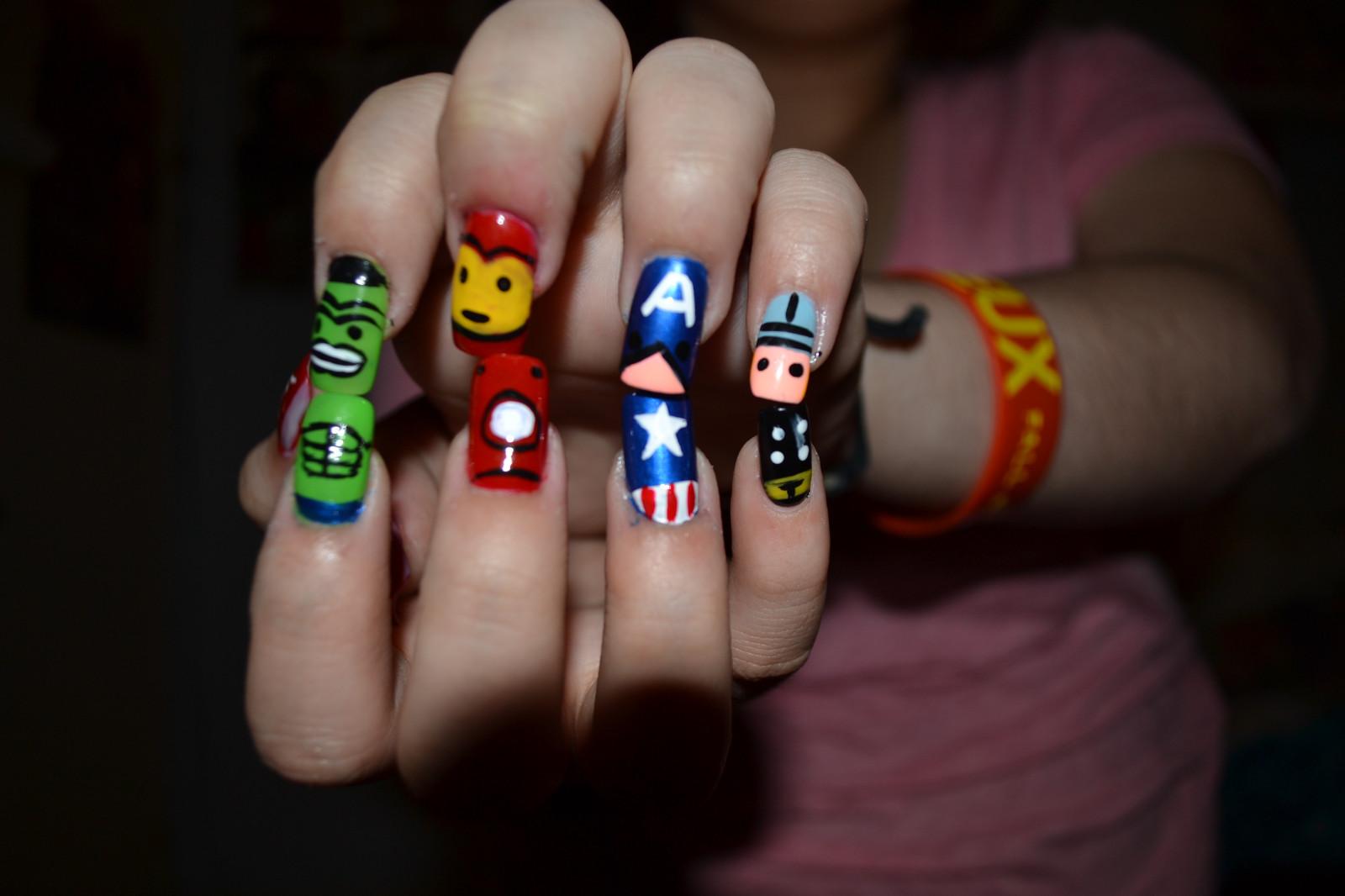 Wallpaper : Thor, hero, Hulk, nails, Demigod, ART, cute, adorable ...