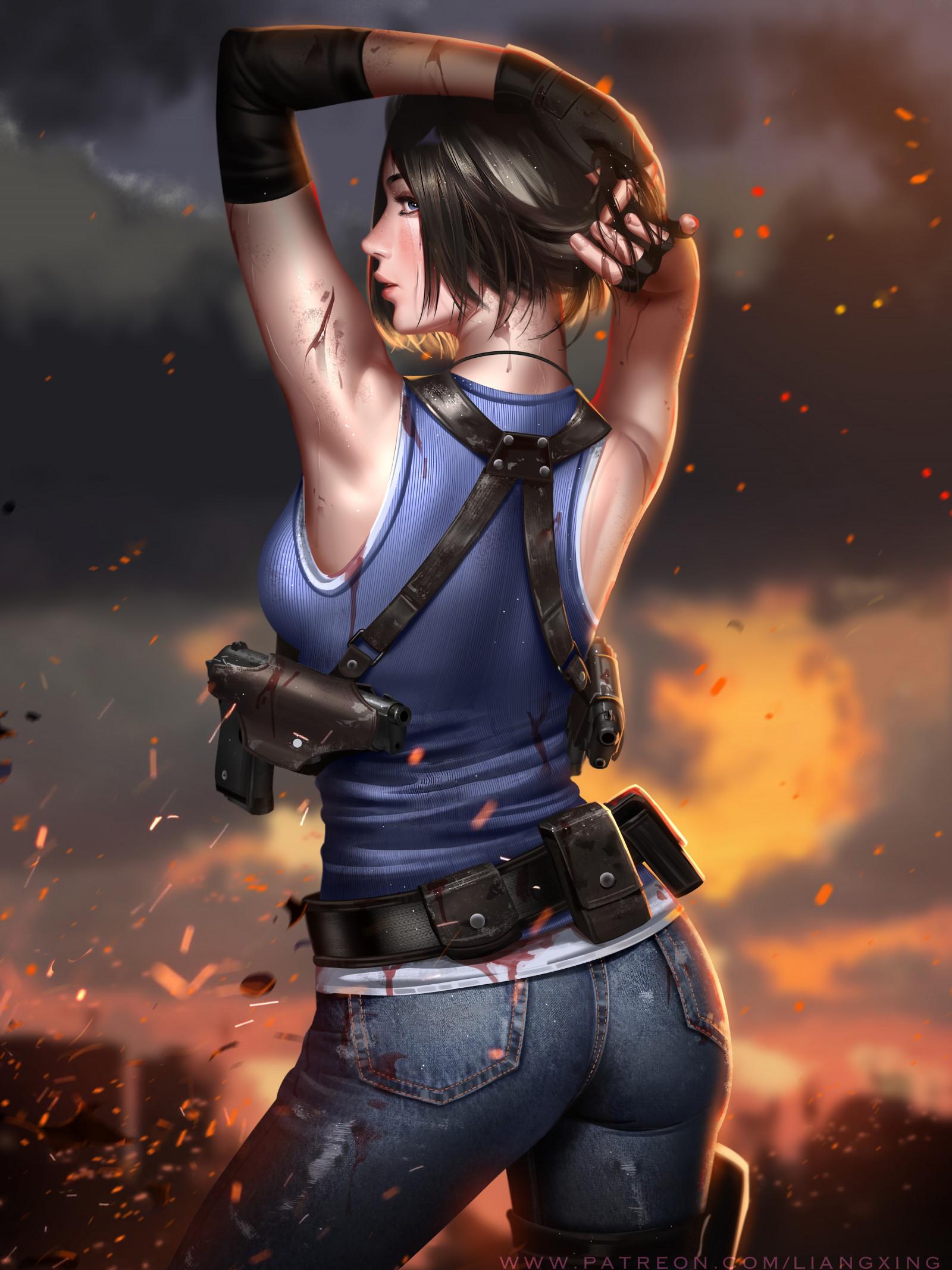 Wallpaper : Jill Valentine, Resident Evil, Resident evil 3