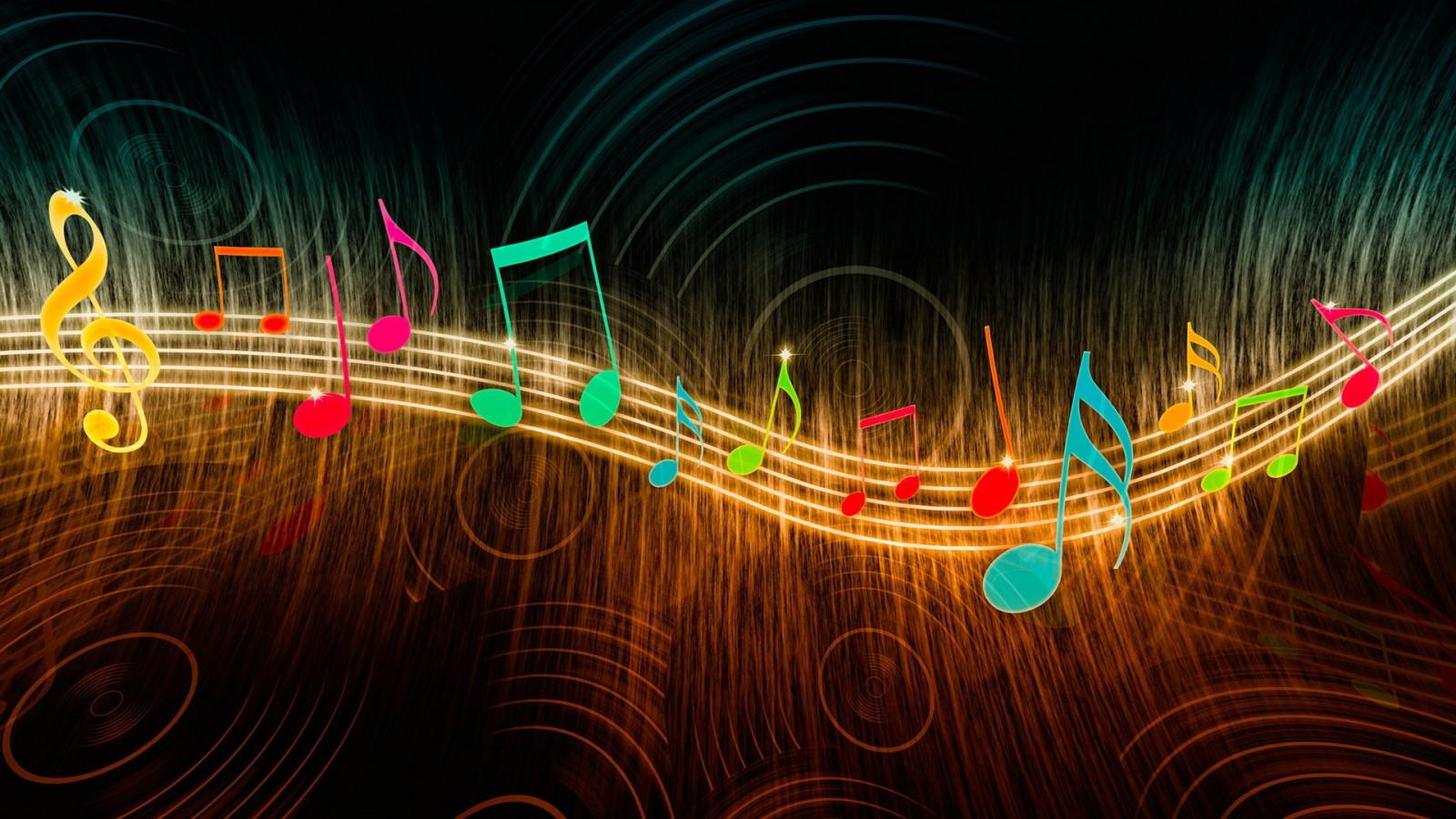 Анимированные обои для музыки