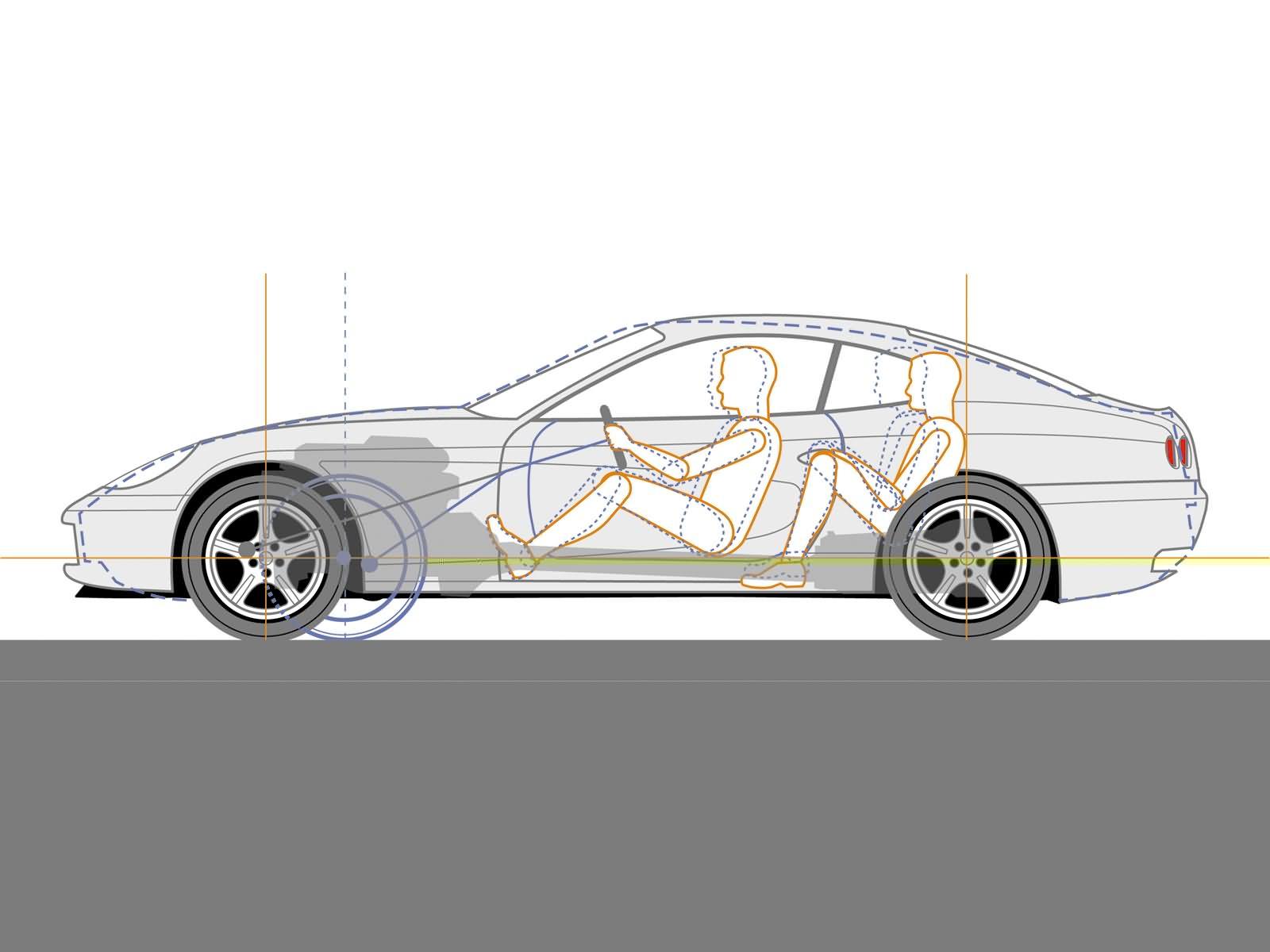 Wallpaper  drawing, illustration, cartoon, sports car
