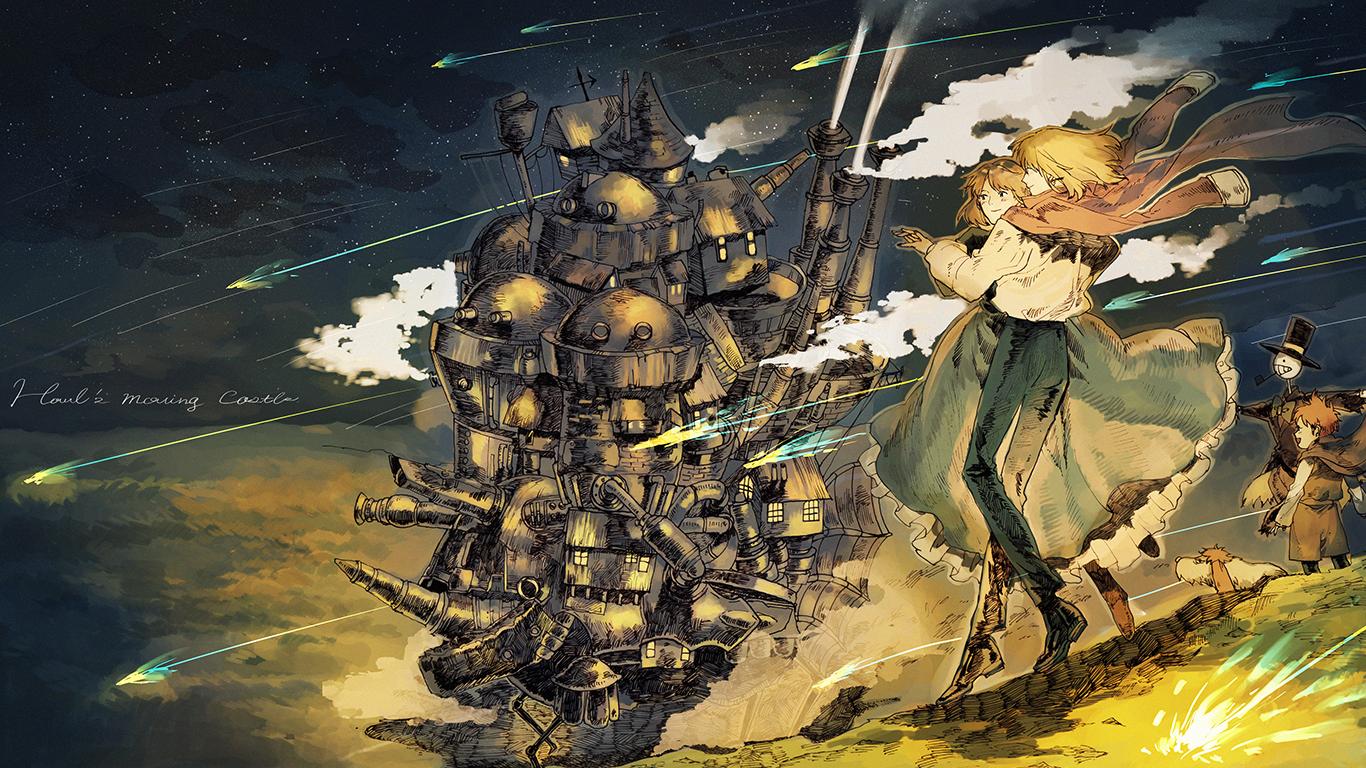 デスクトップ壁紙 アニメ スタジオジブリ ハウルの動く城 神話