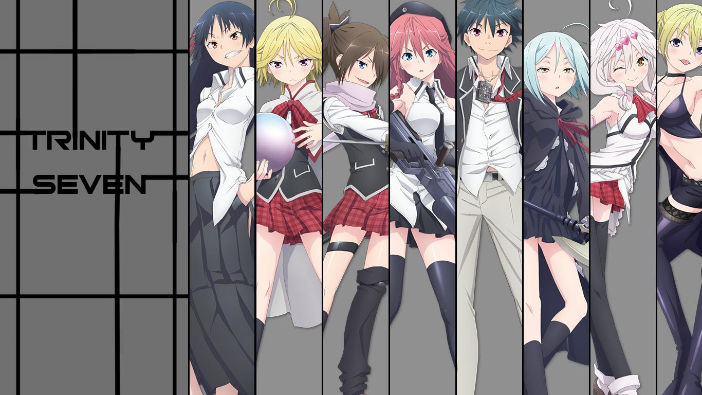 Fondos De Pantalla Trinity Seven Chicas Anime Asami