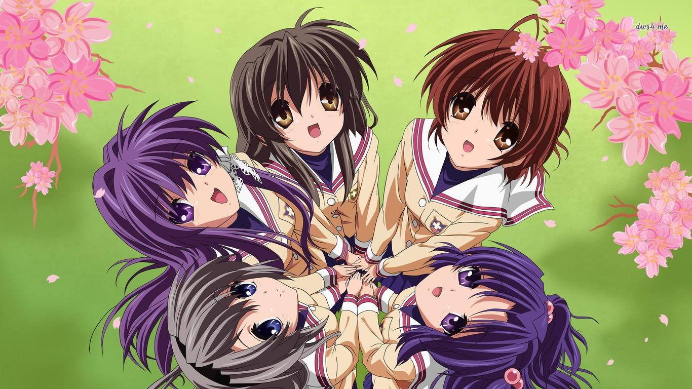 Download 570 Koleksi Wallpaper Anime Clannad Hd HD Terbaik