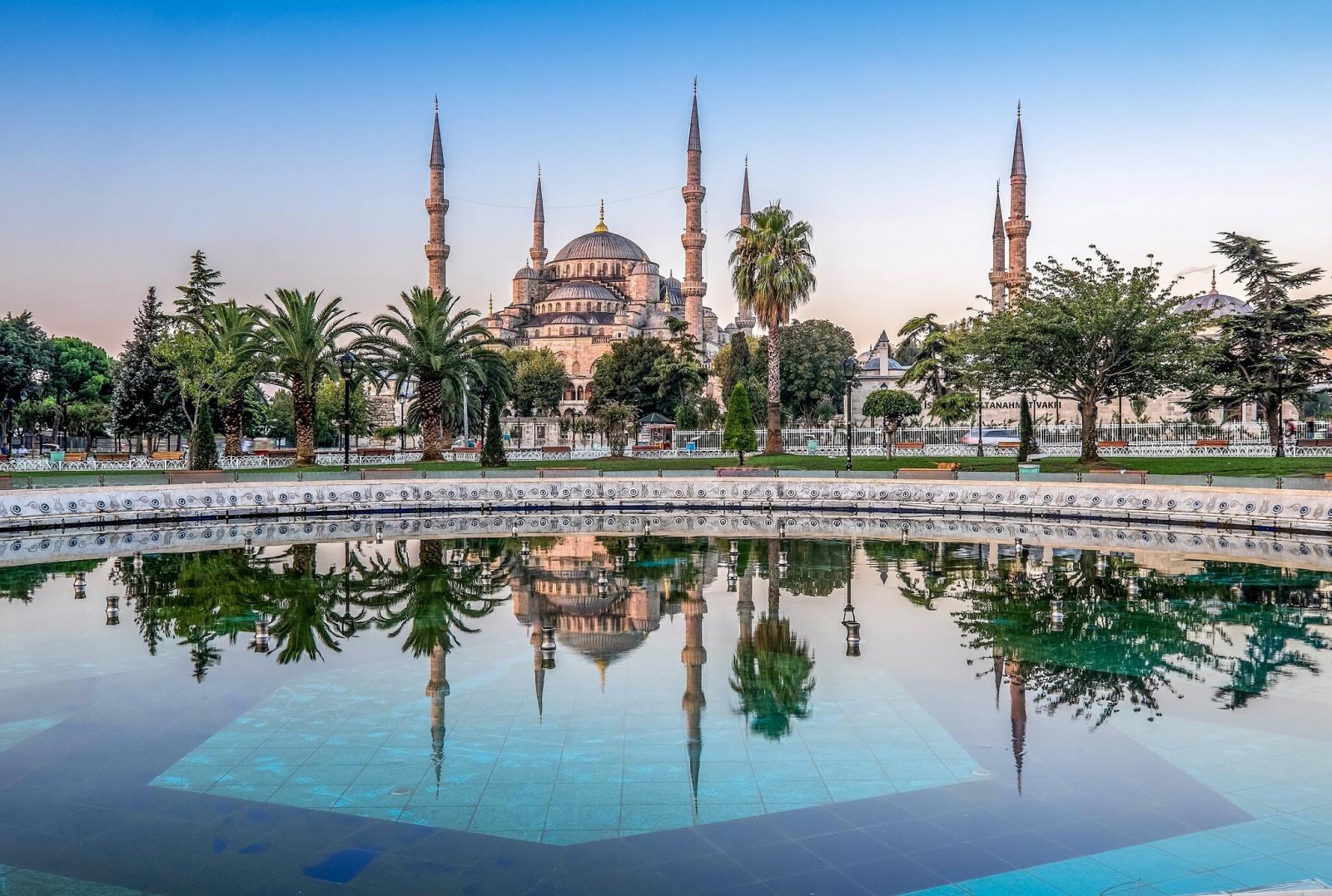 Wallpaper Masjid Biru Sultan Ahmet Mosque Istanbul Turki
