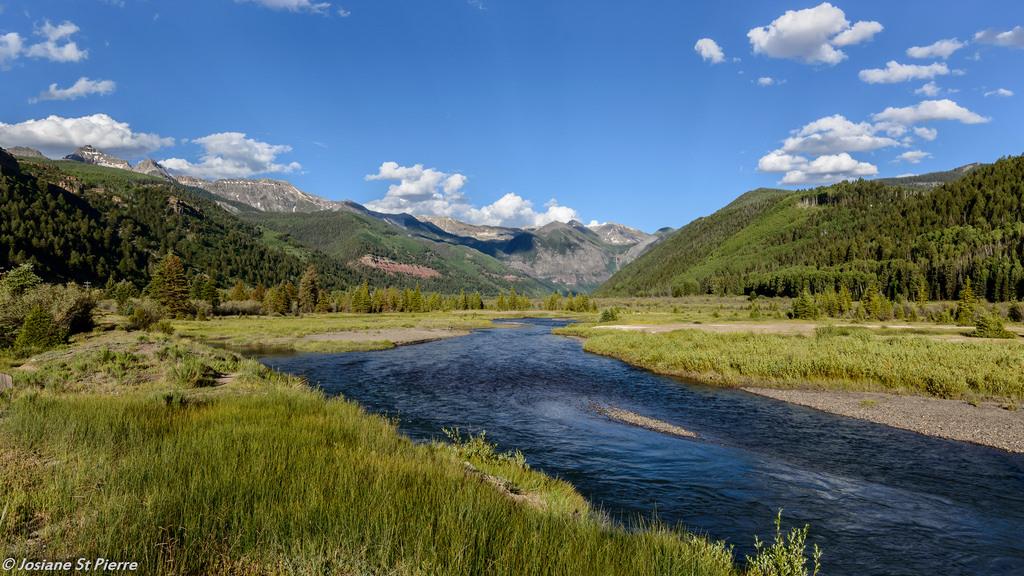 Summer Mountain Nature River Nikon Colorado Day Canyon Telluride Pwpartlycloudy