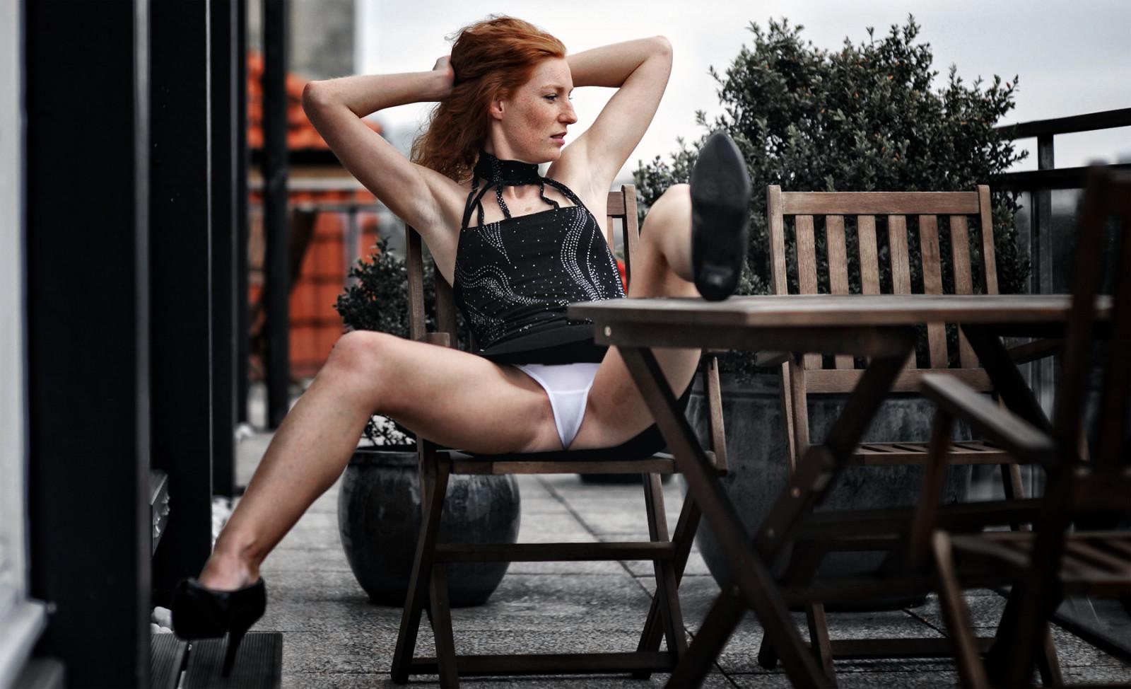 Really really upskirt miniskirt thong string short panty hot