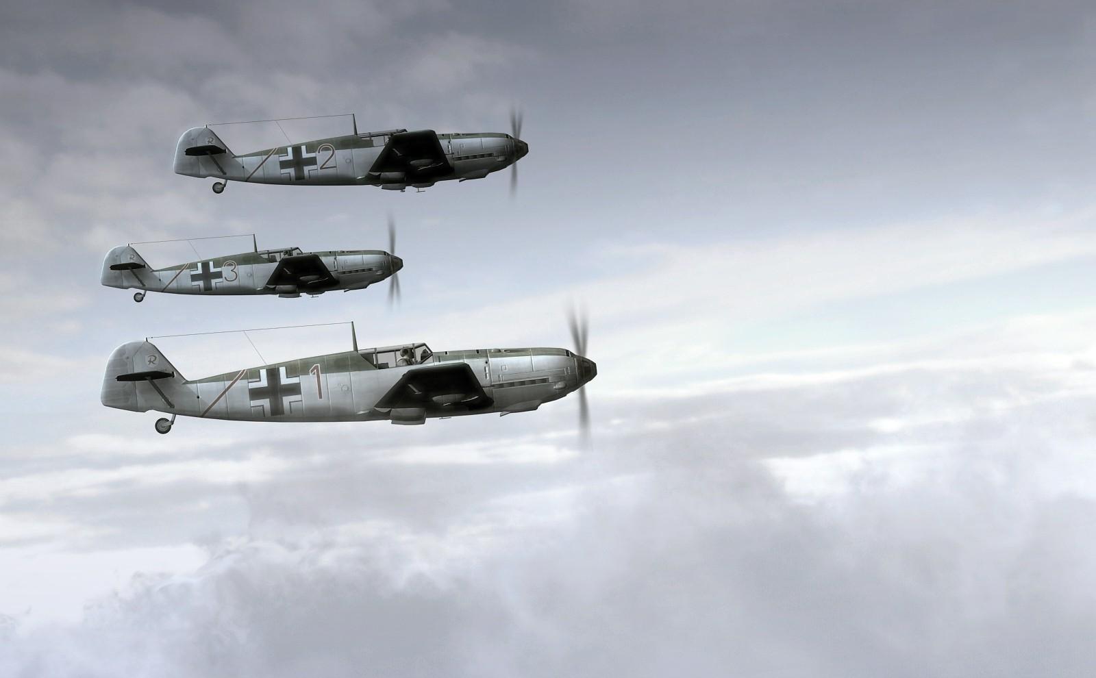 1600x990 px aircraft airplane Germany Luftwaffe Messerschmitt Messerschmitt Bf 109 military military aircraft World War II