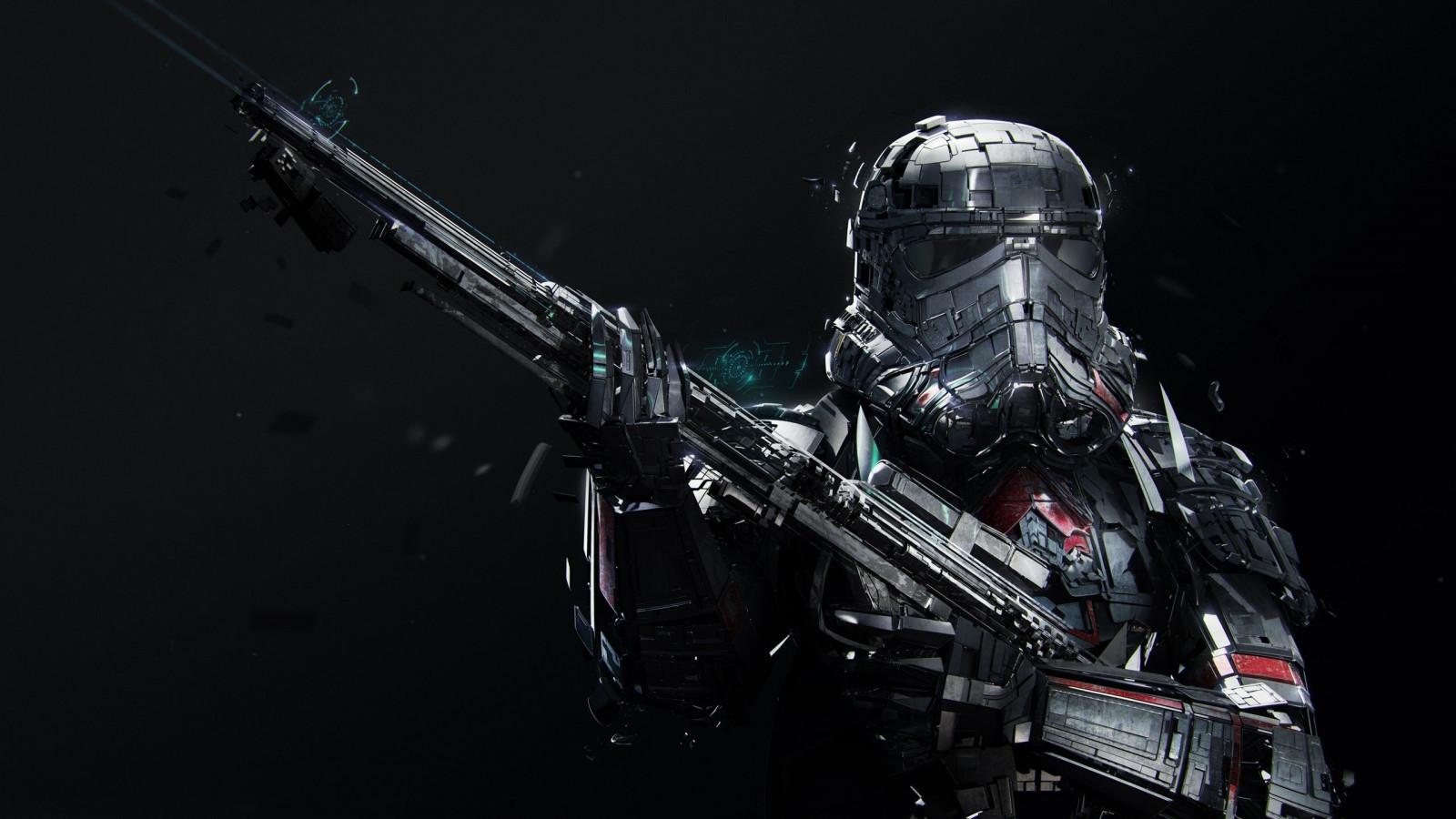 Death trooper wallpaper