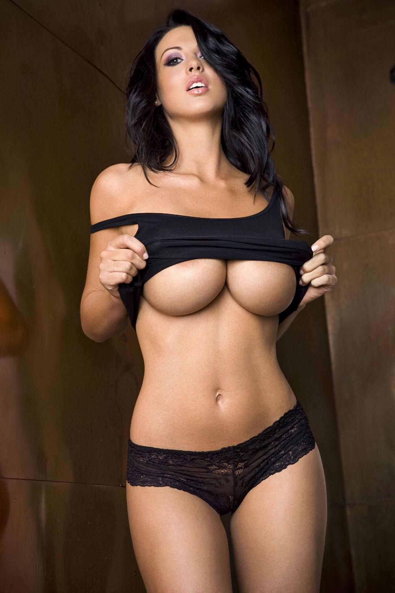 Wallpaper  Women, Long Hair, Big Boobs, Black Hair -8344