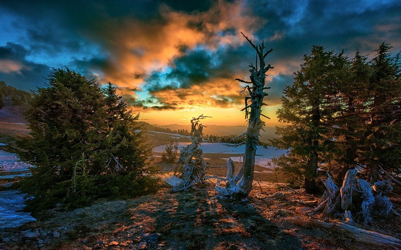 Simple Wallpaper Minecraft Autumn - 1400x875_px_clouds_Fall_Hill_landscape_nature_Oregon_snow-701437  2018_1009794.jpg!d