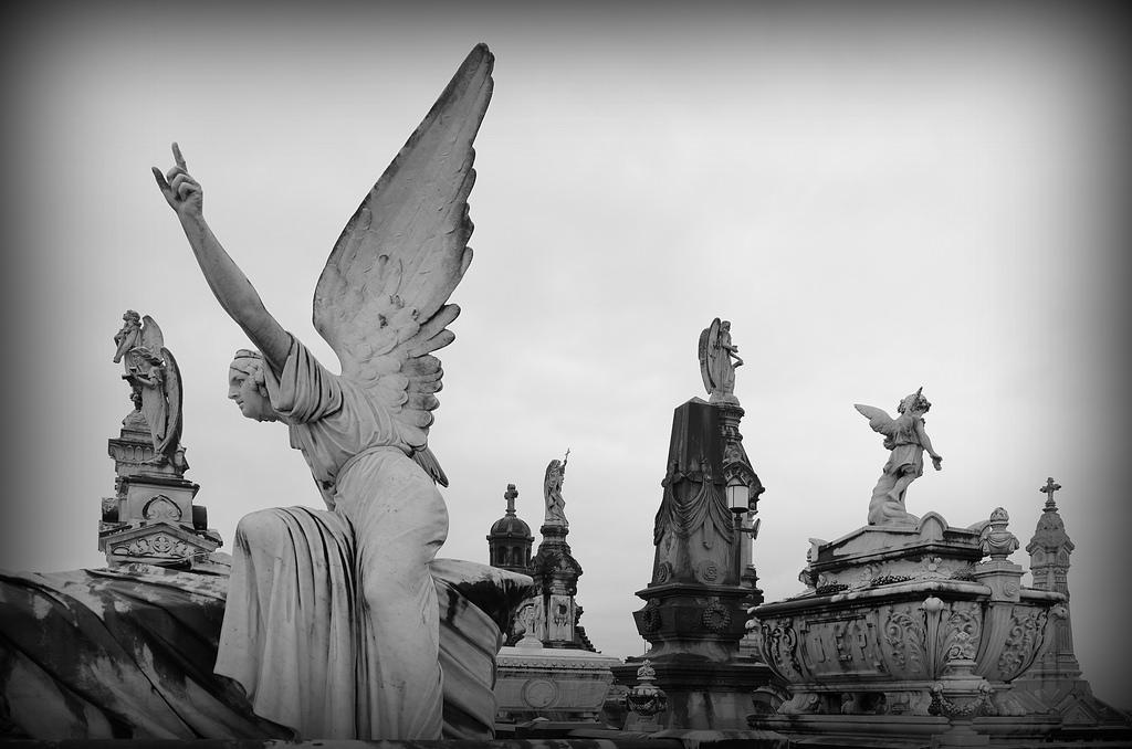 Sfondi Tempio Monocromo Cielo Angelo Opera Darte Statua