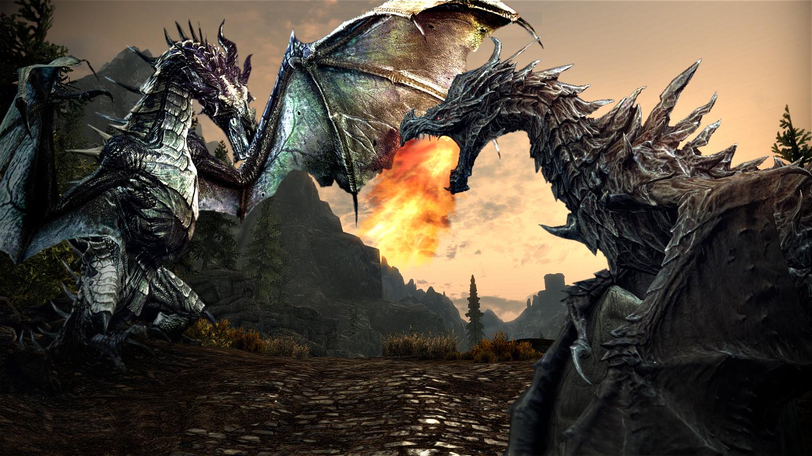 рисунки фото дракона с мечом секции