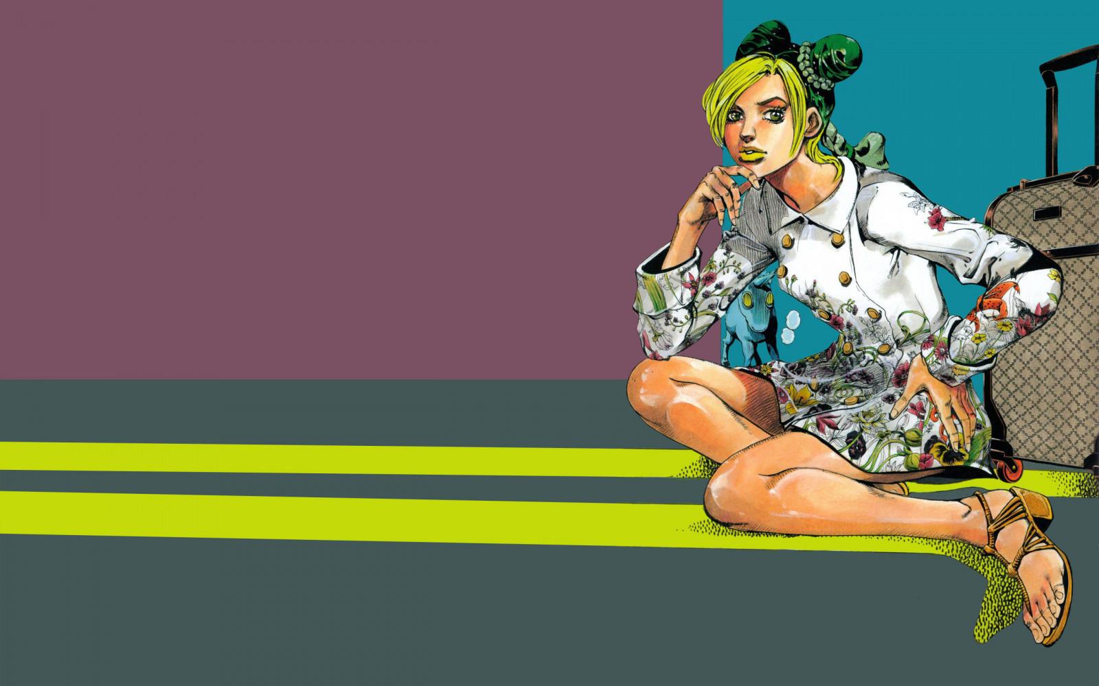 Wallpaper : JoJo's Bizarre Adventure, Jojo, anime, manga ...