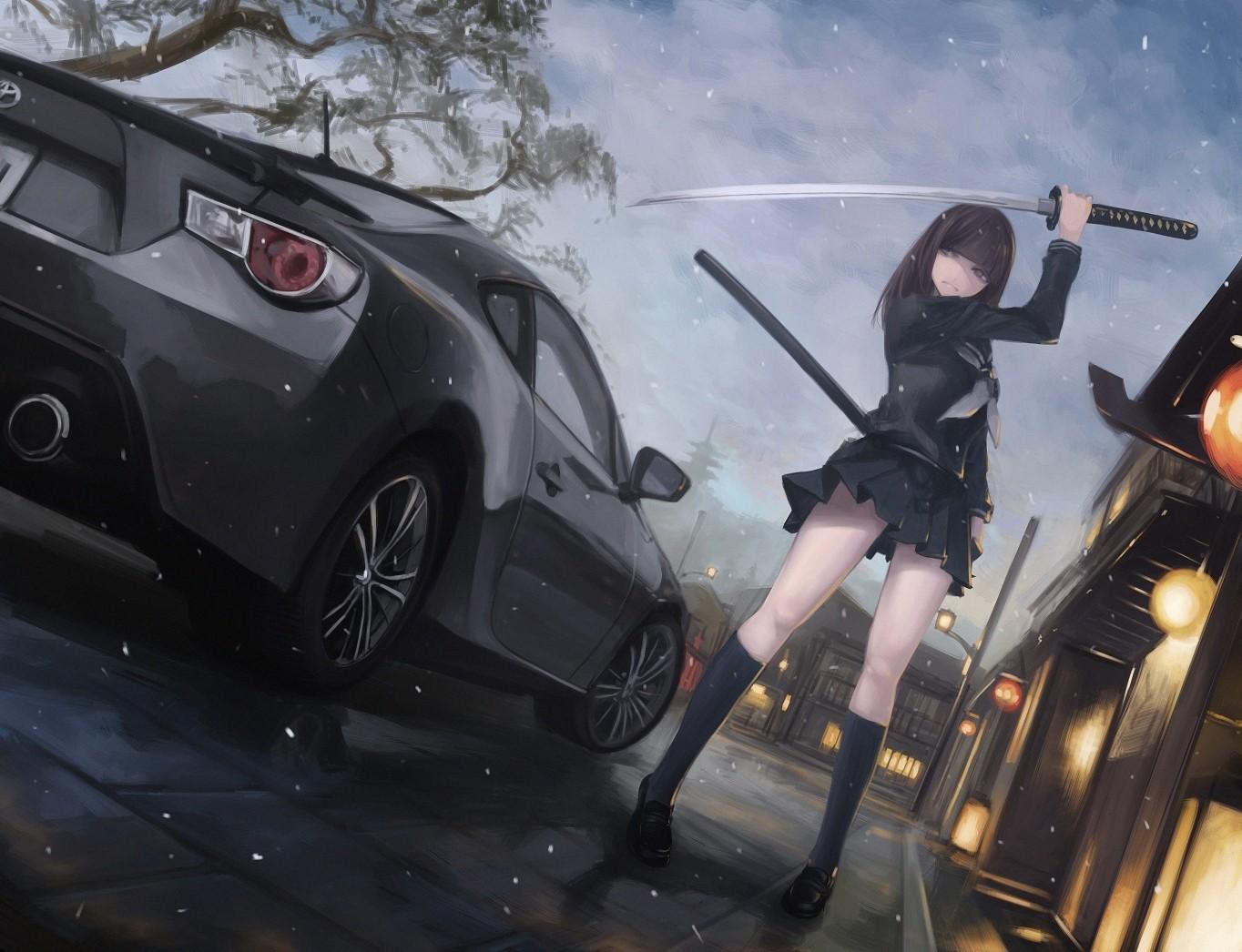 Fantastic Wallpaper Anime Car - anime_girls_car_GT86_Toyota_GT86-126842  Pic_111054      .jpg!d